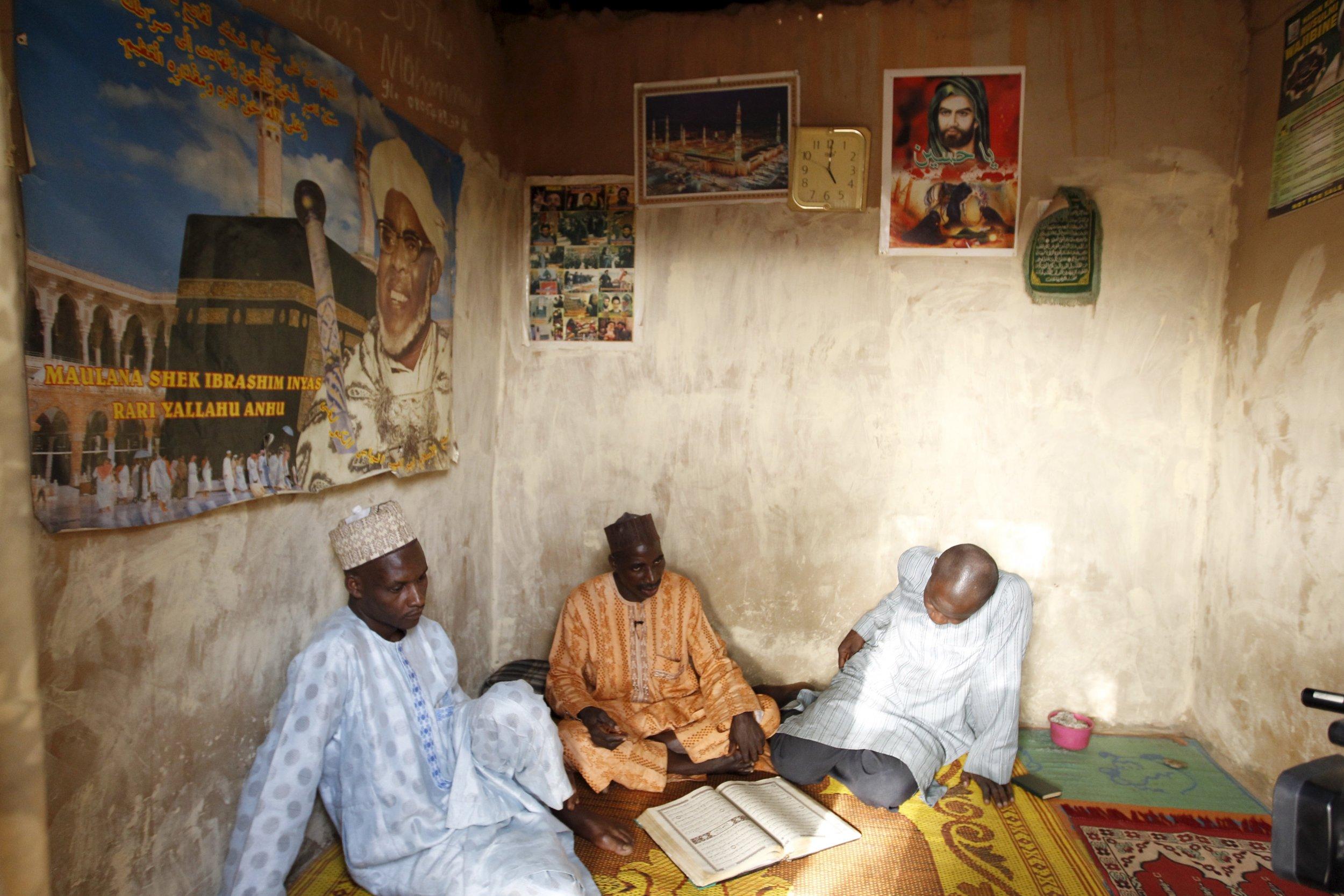 Nigerian Shiites talks in Zaria.