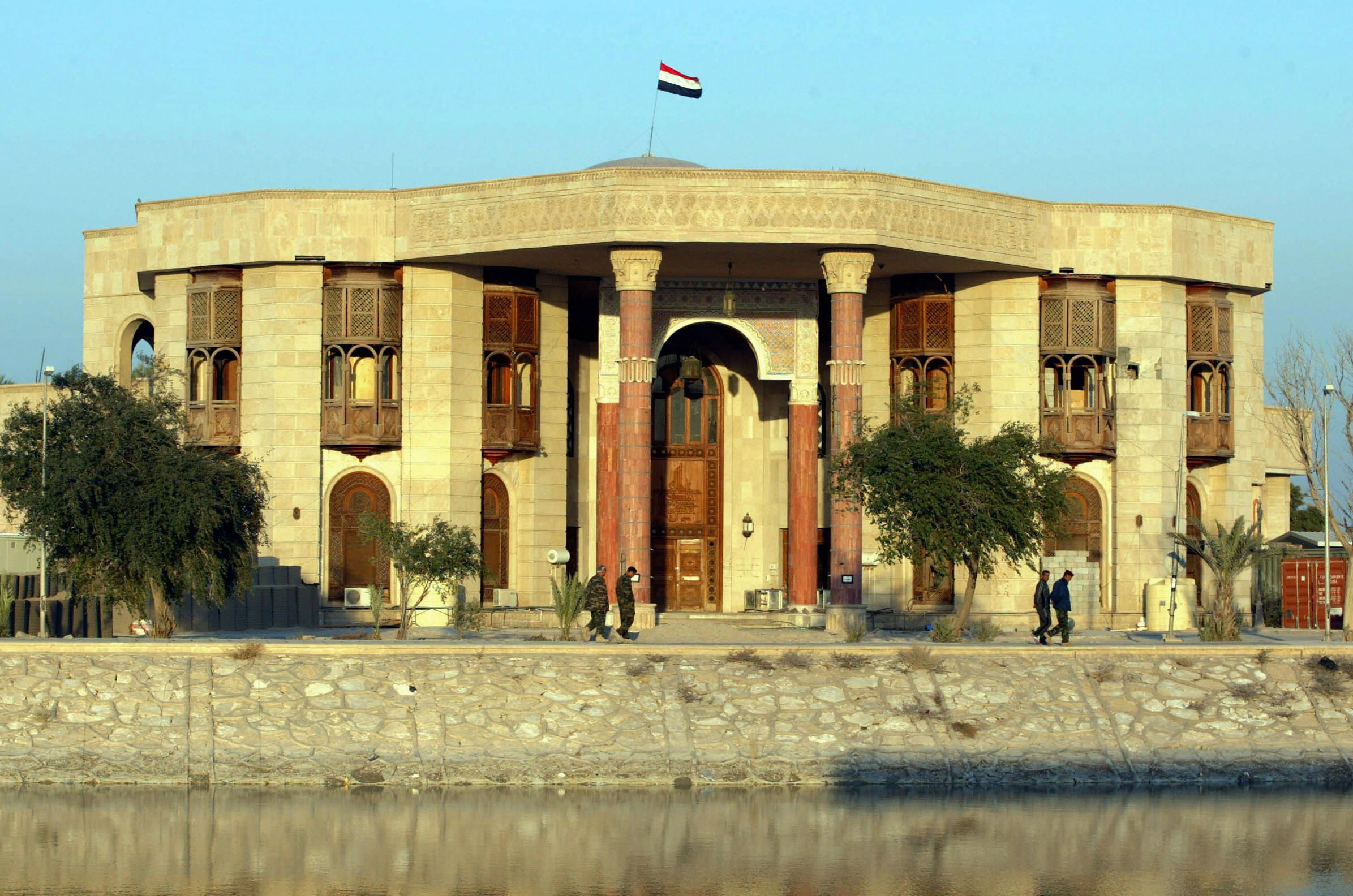 Saddam Hussein's former palace