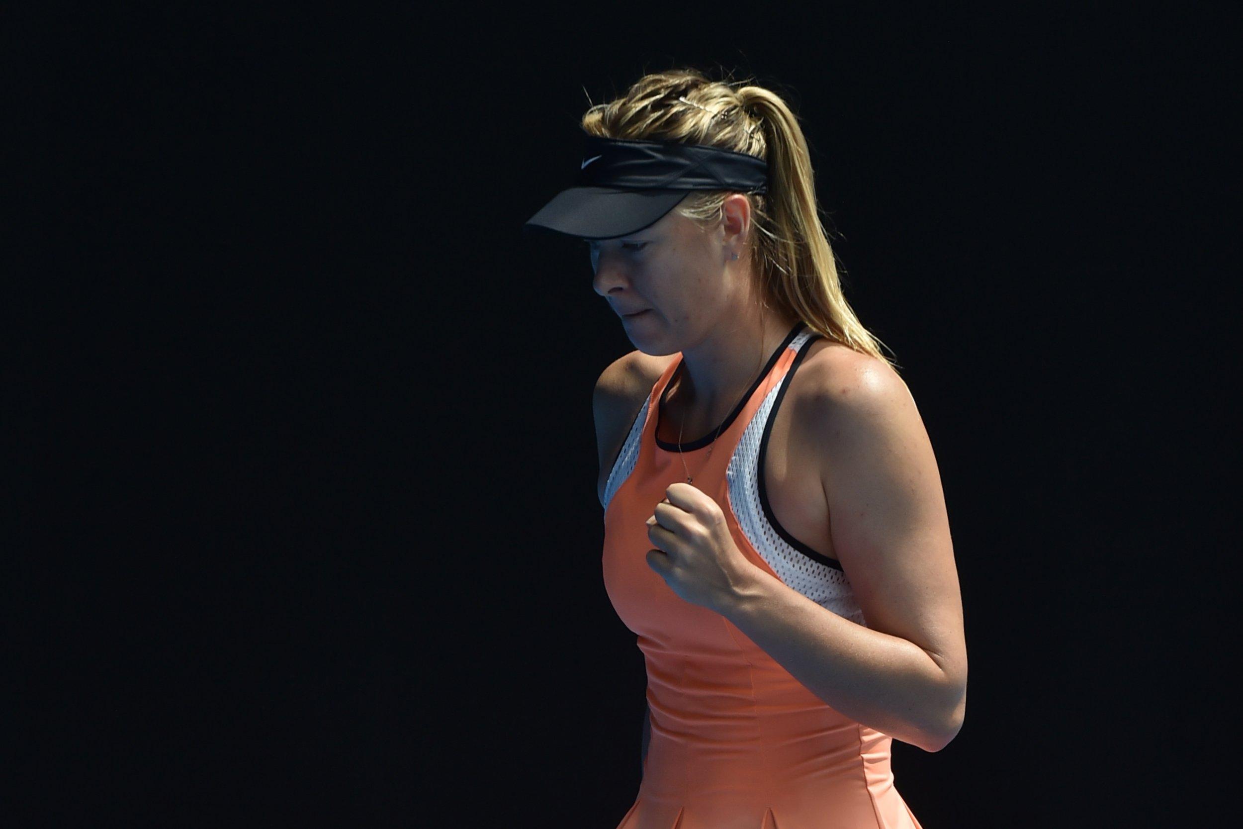 Maria Sharapova may benefit from a WADA rule change regarding meldonium.