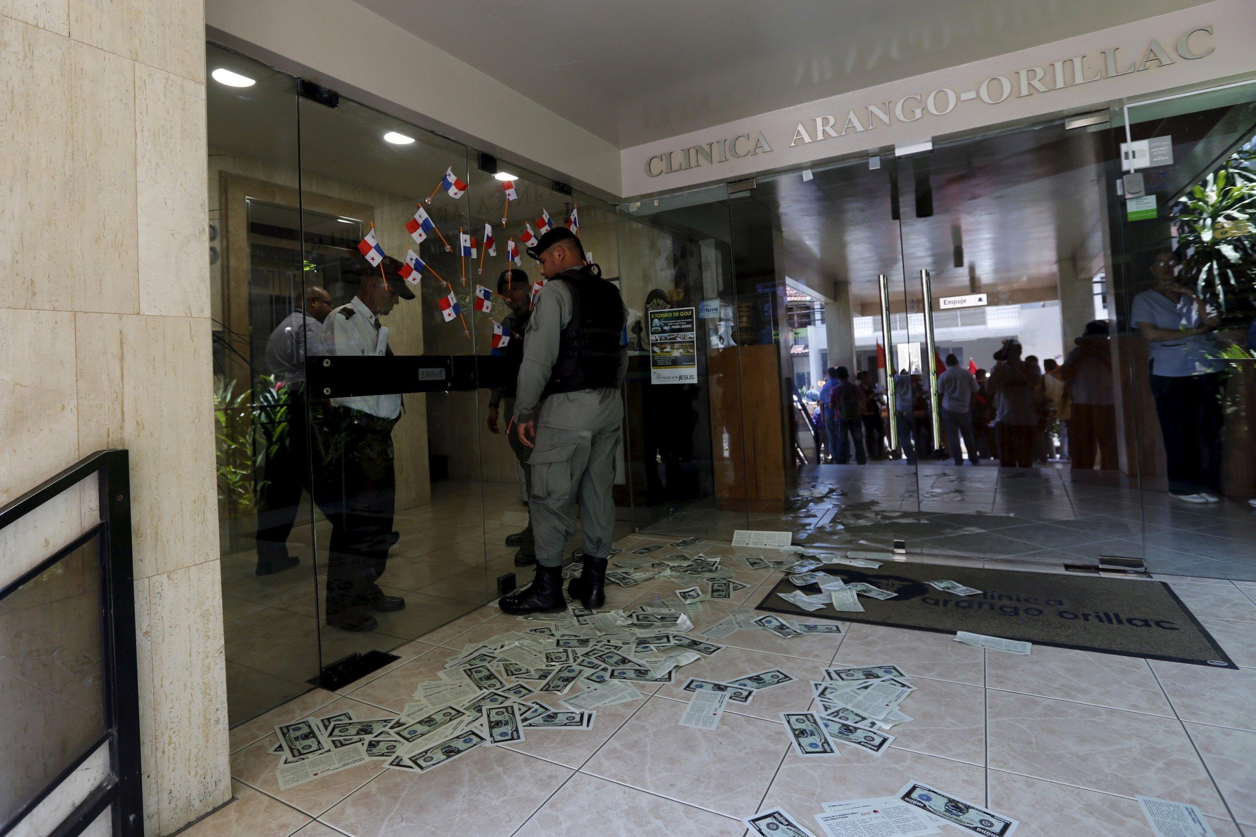 Mossack Fonseca entrance