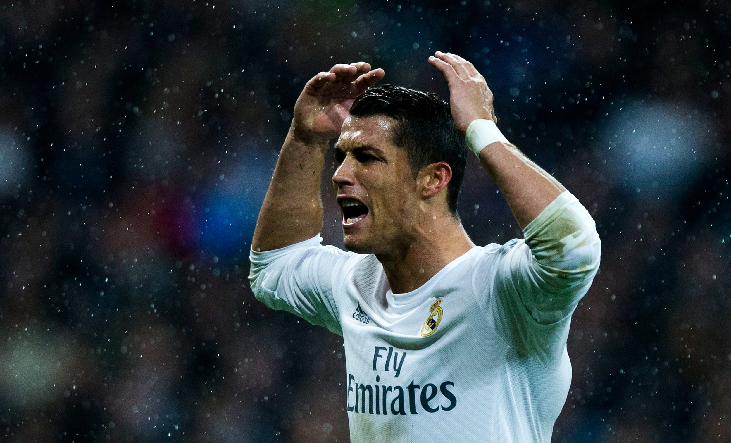 Cristiano Ronaldo scored a hat-trick for Real Madrid against Wolfsburg on Tuesday evening.