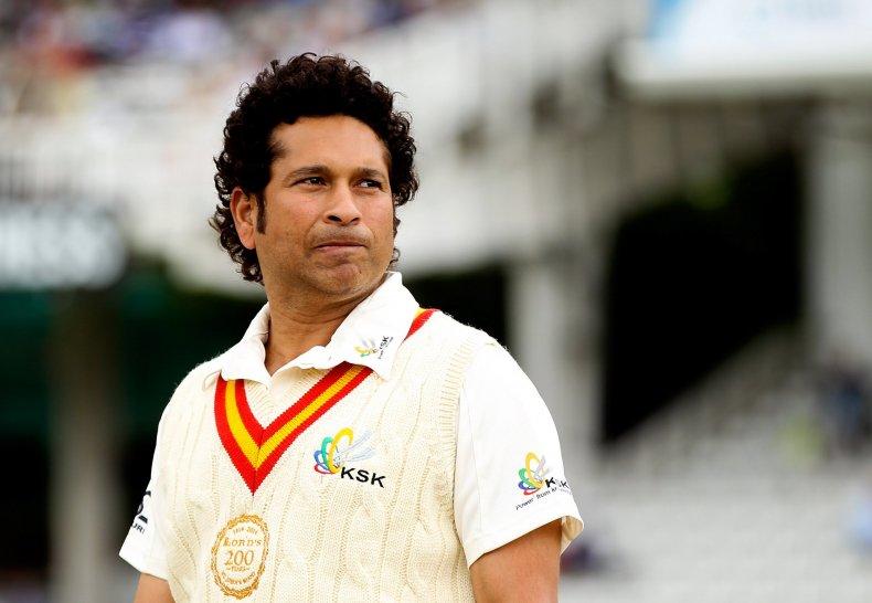 Sachin Tendulkar is India's most famous cricketer.
