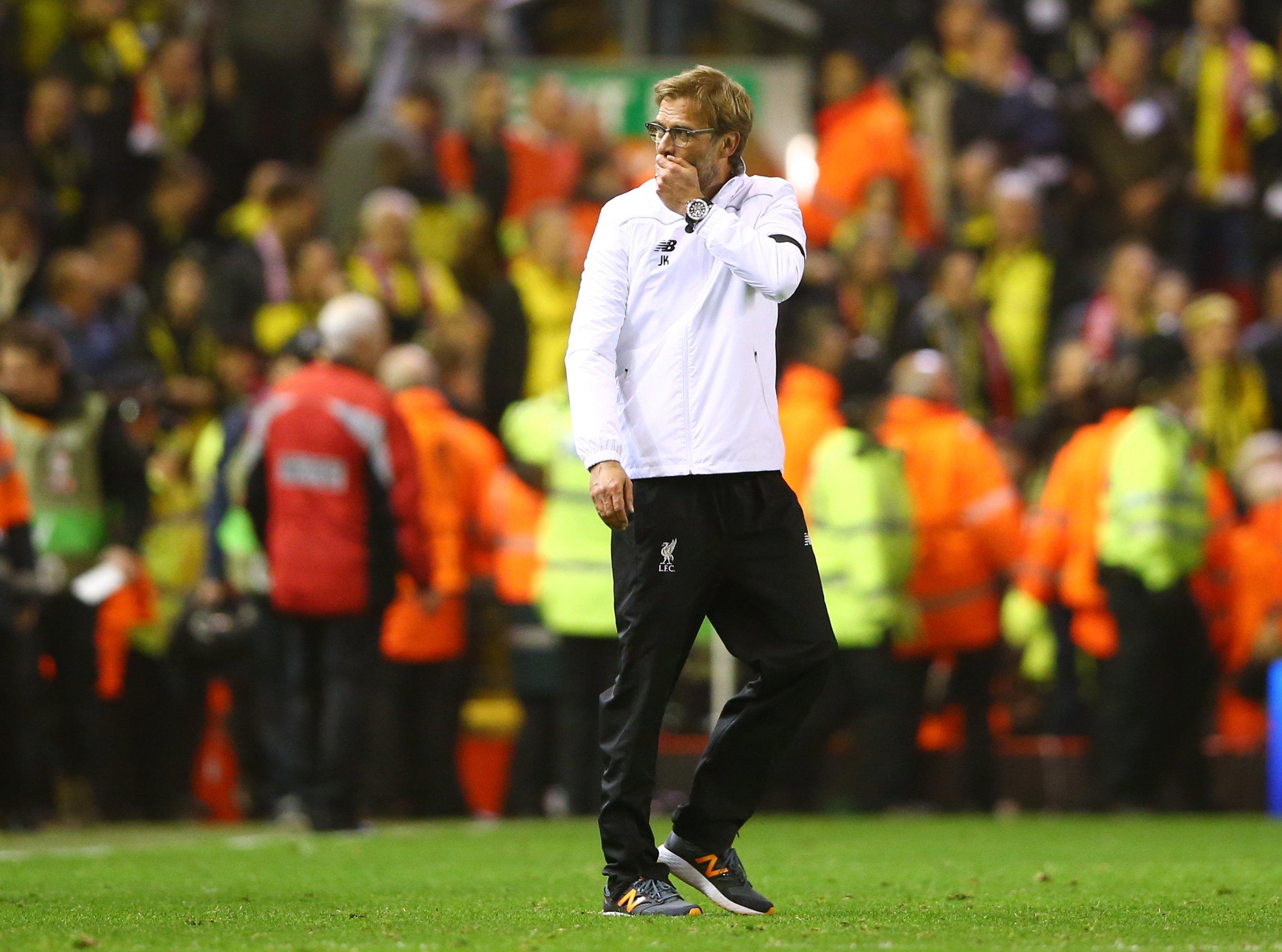 Jurgen Klopp's Liverpool snuck by his old team Borussia Dortmund inn the Europa League quarter-final.