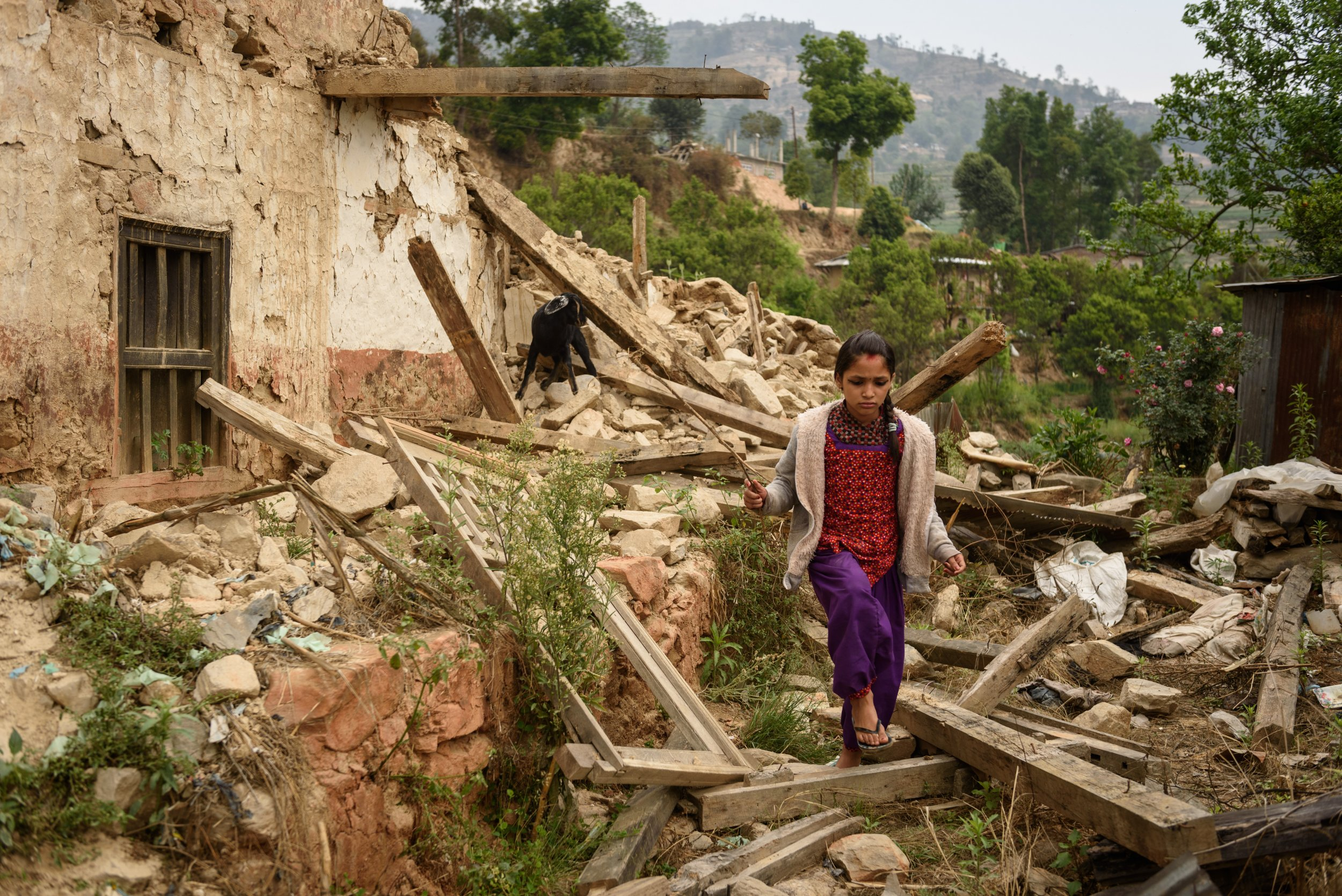 One Year After A Devastating Earthquake Nepal Is Still In