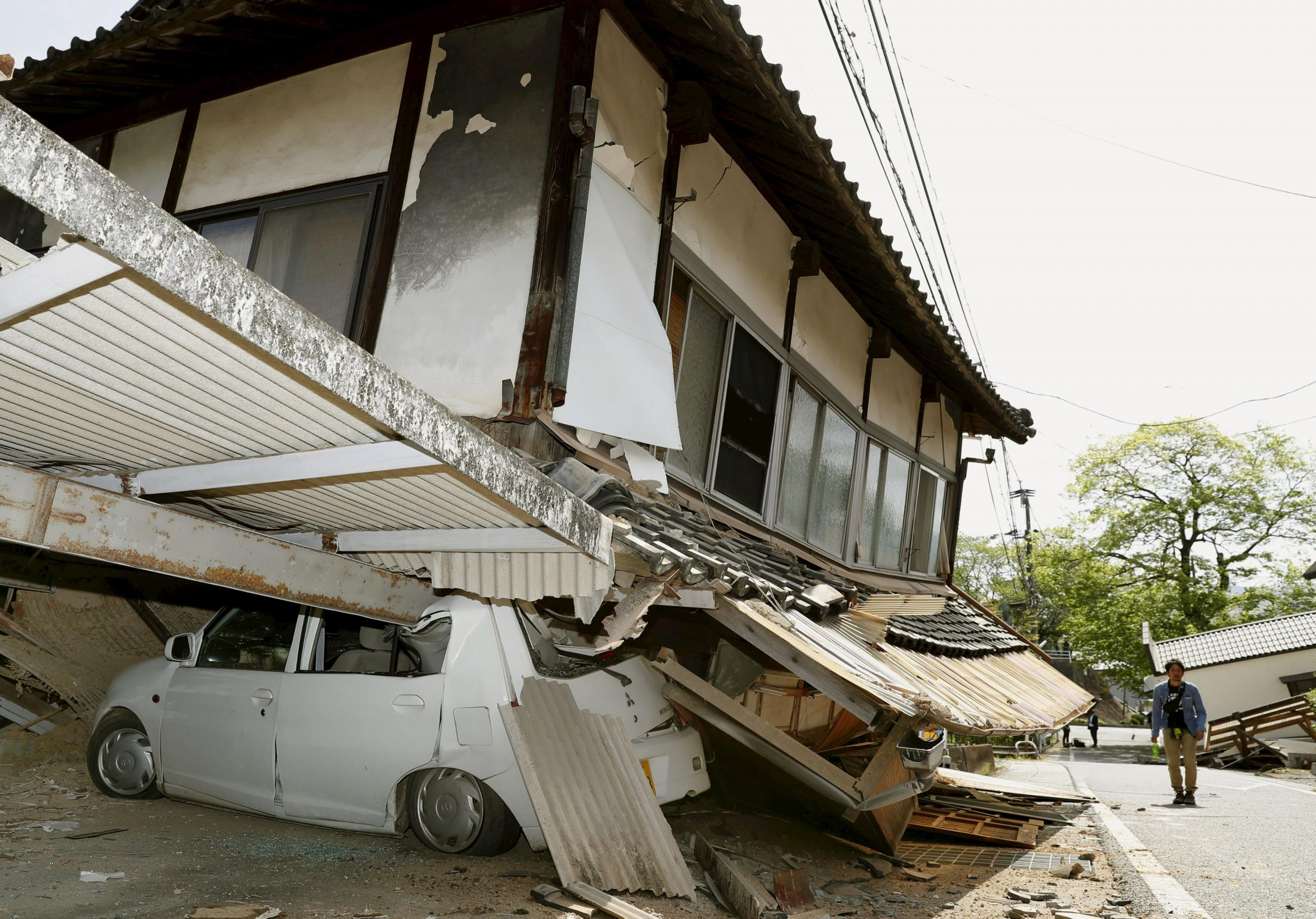 Image result for Strong Earthquake Hits Japan with Severe Damage.