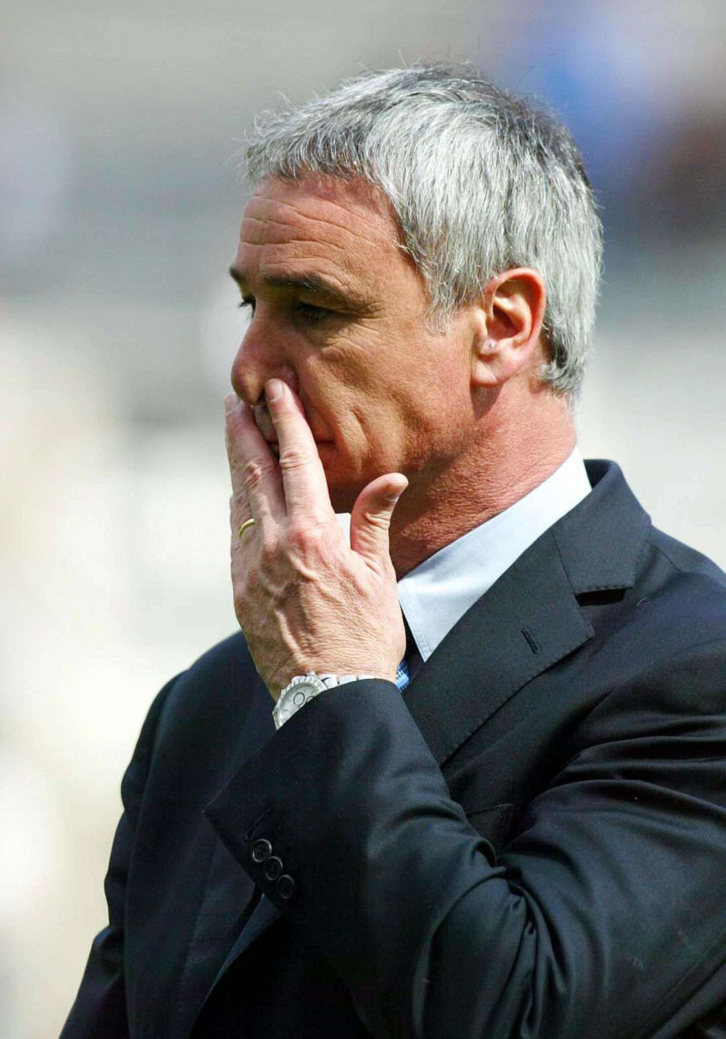 Claudio Ranieri has never won a major league title in his career.
