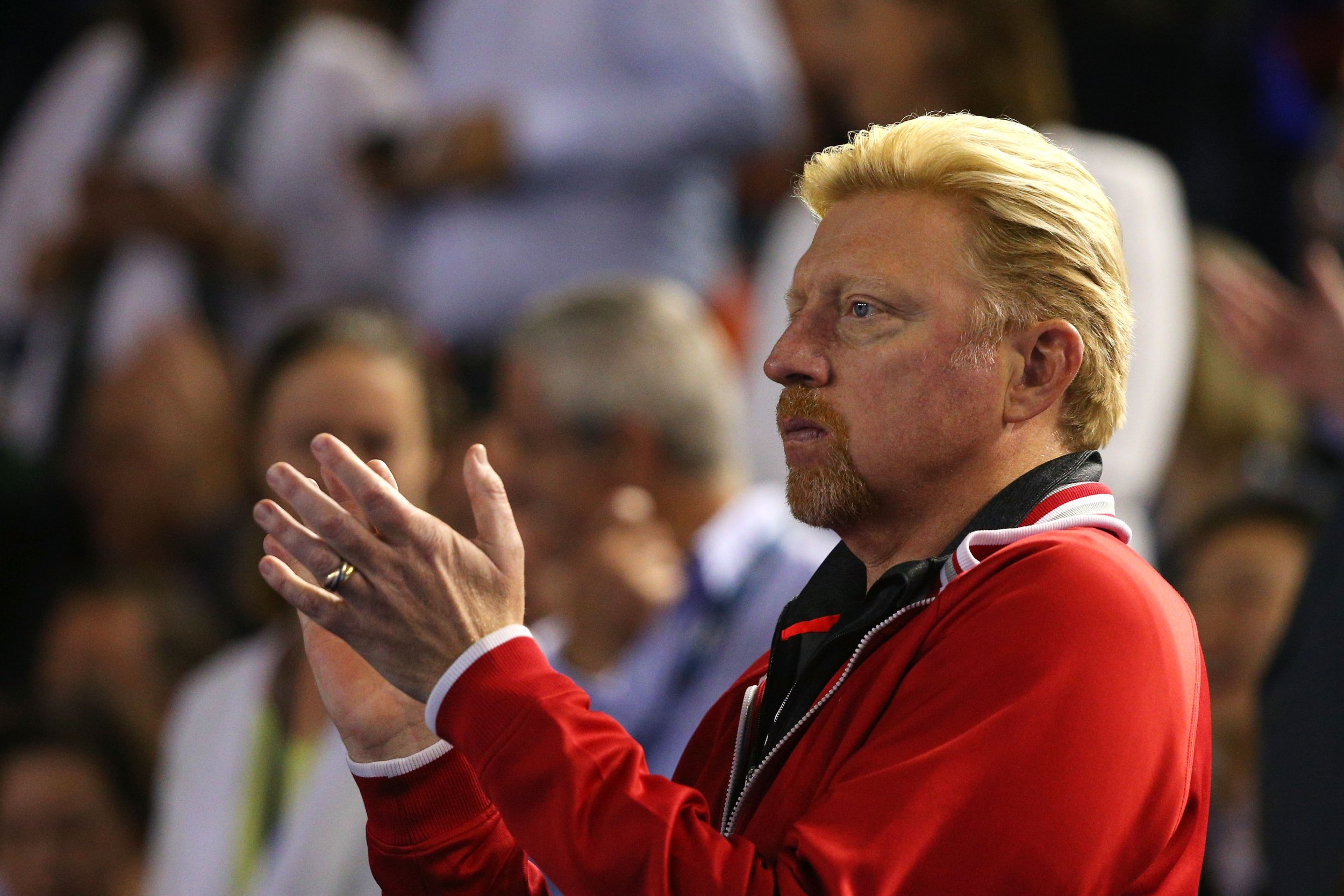 Boris Becker is coach to world number one Novak Djokovic.