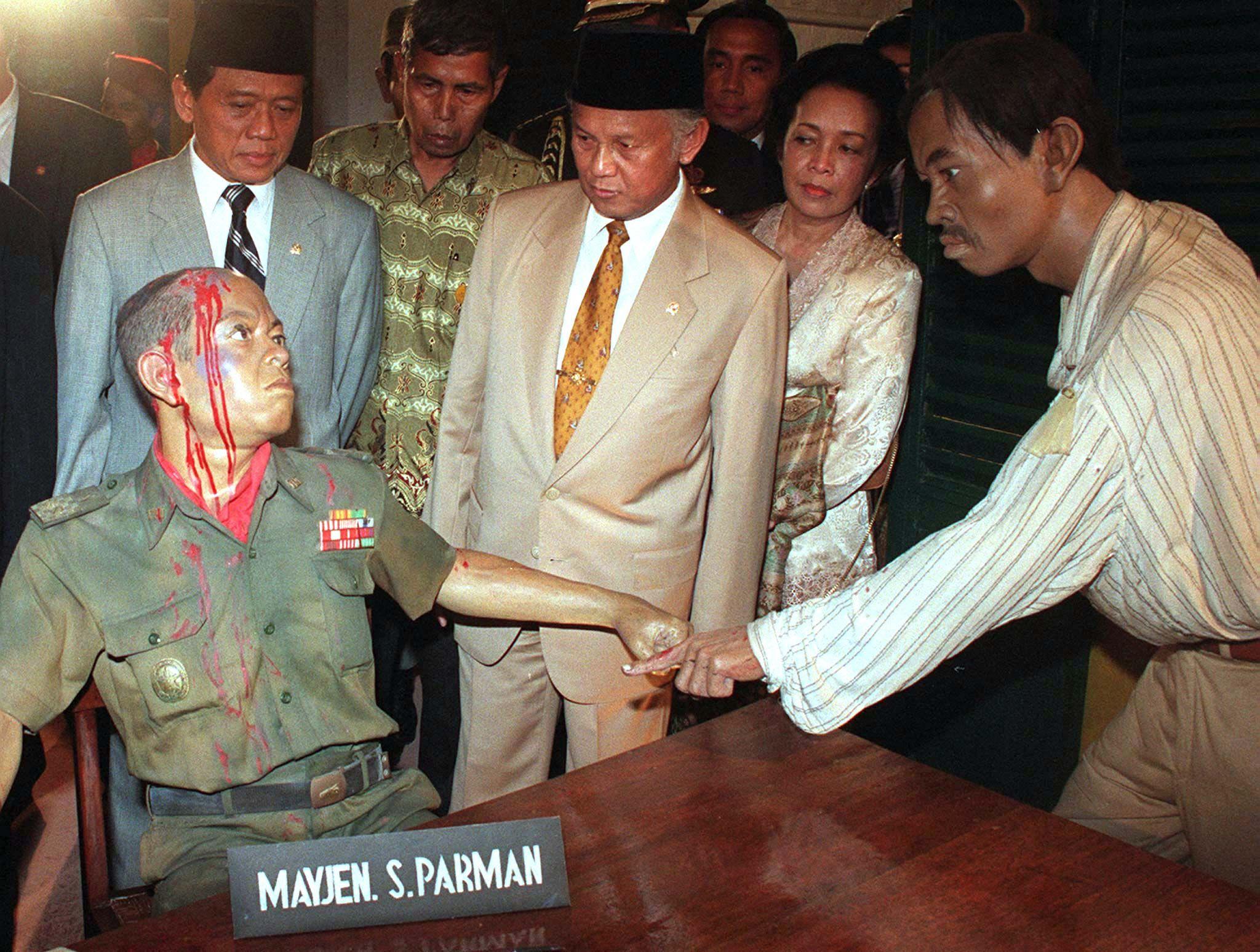 Indonesia purge