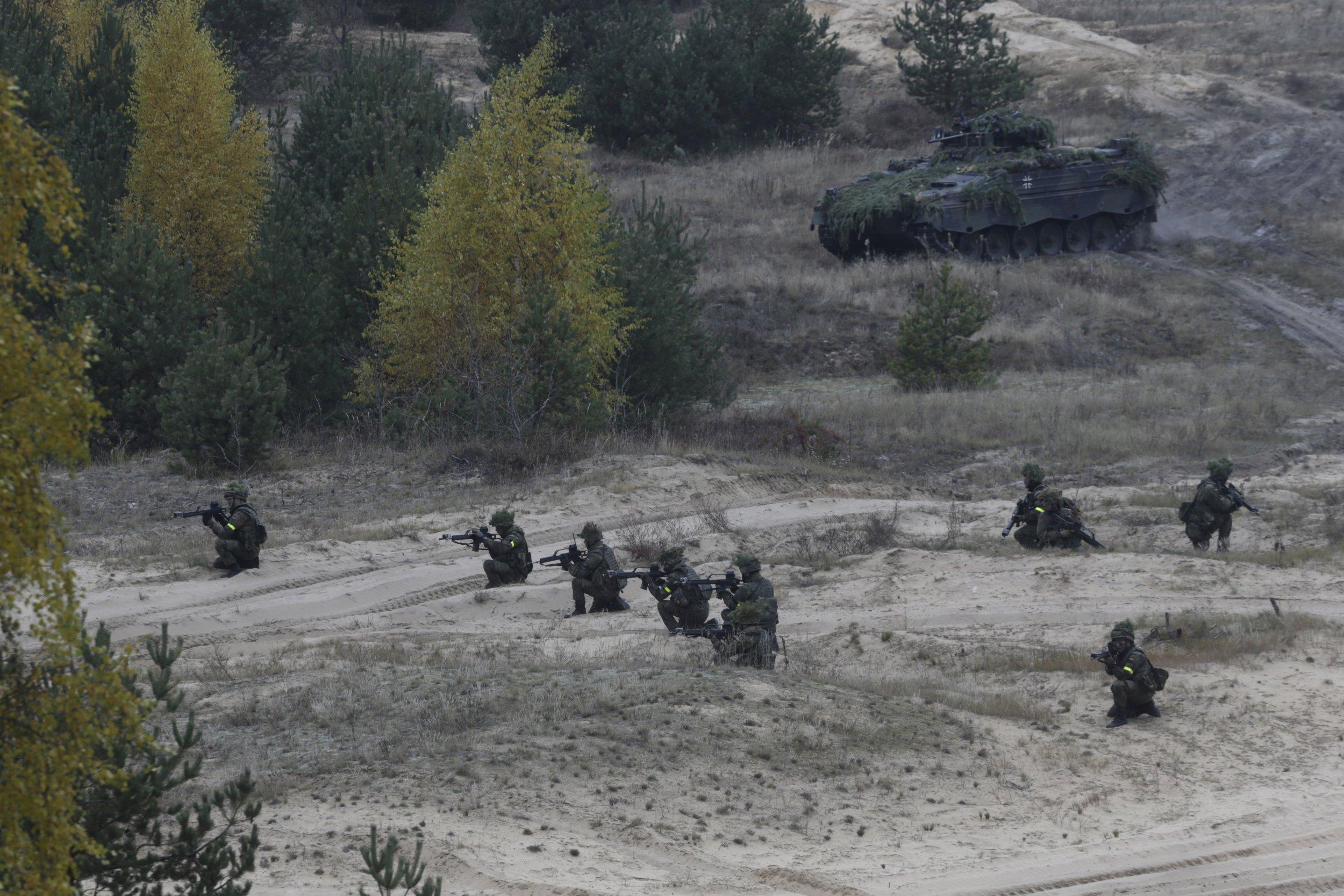 Latvia Military Exercise