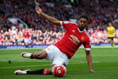 Marcus Rashford will play a key role for Manchester United as it pursues the Champions League.
