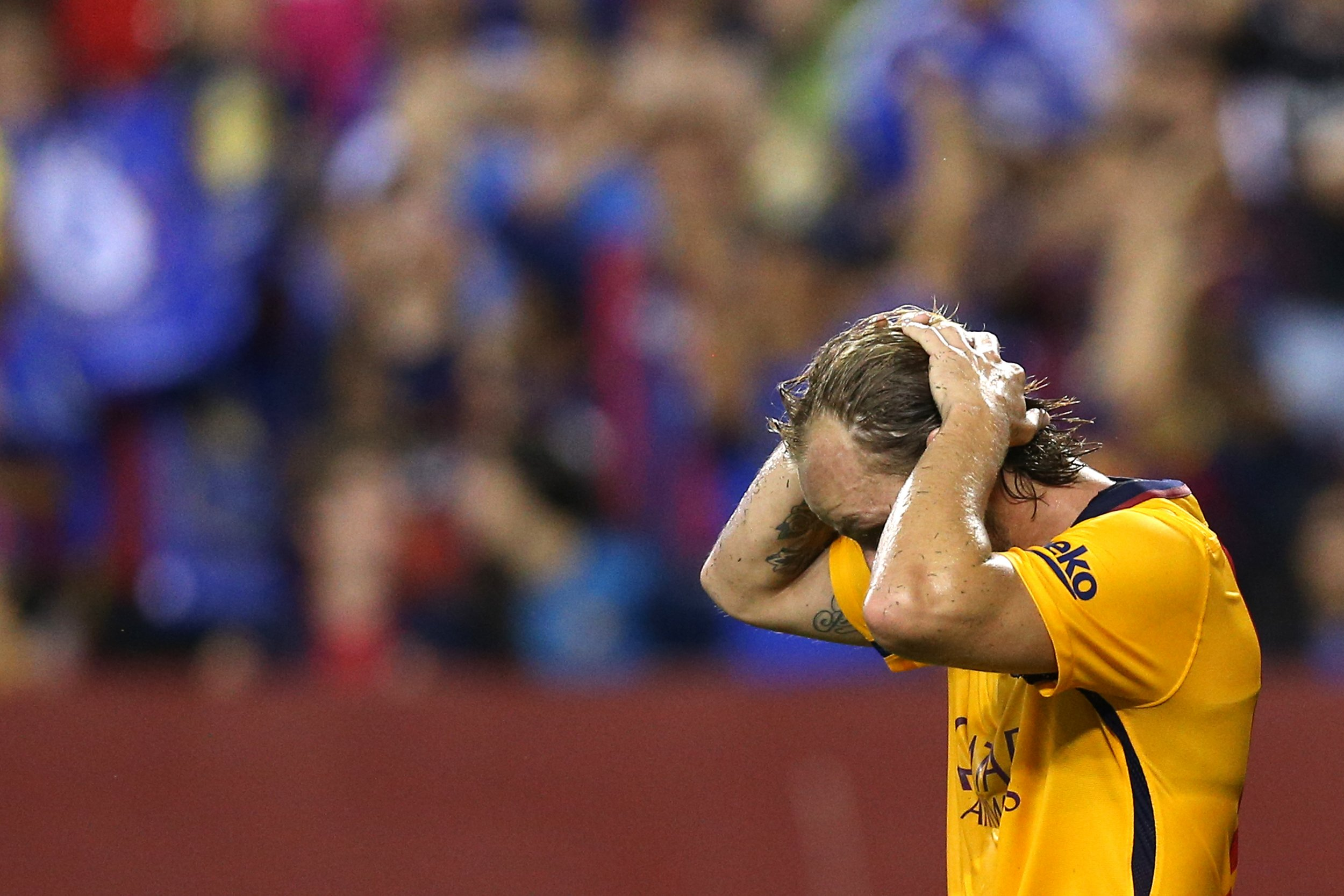 Ivan Rakitic and Barcelona have been in a poor run of form.