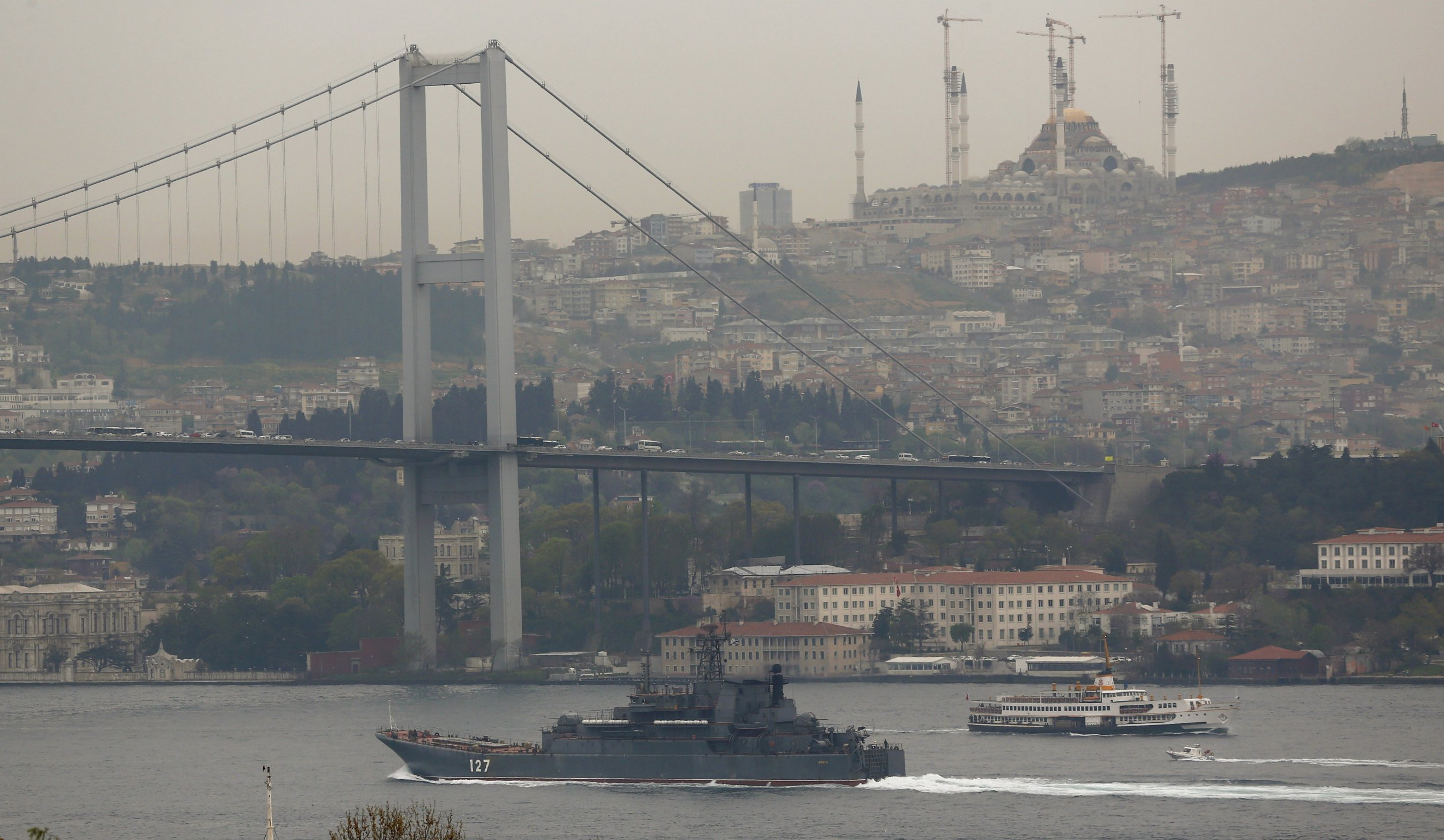 Bosphorus Russian ship