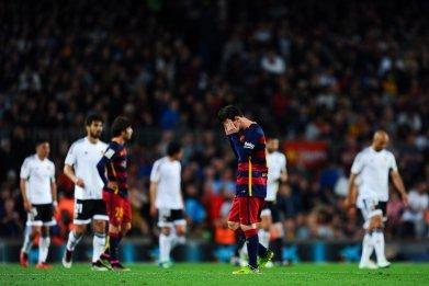Lionel Messi's goals have dried up in Barcelona's La Liga season.