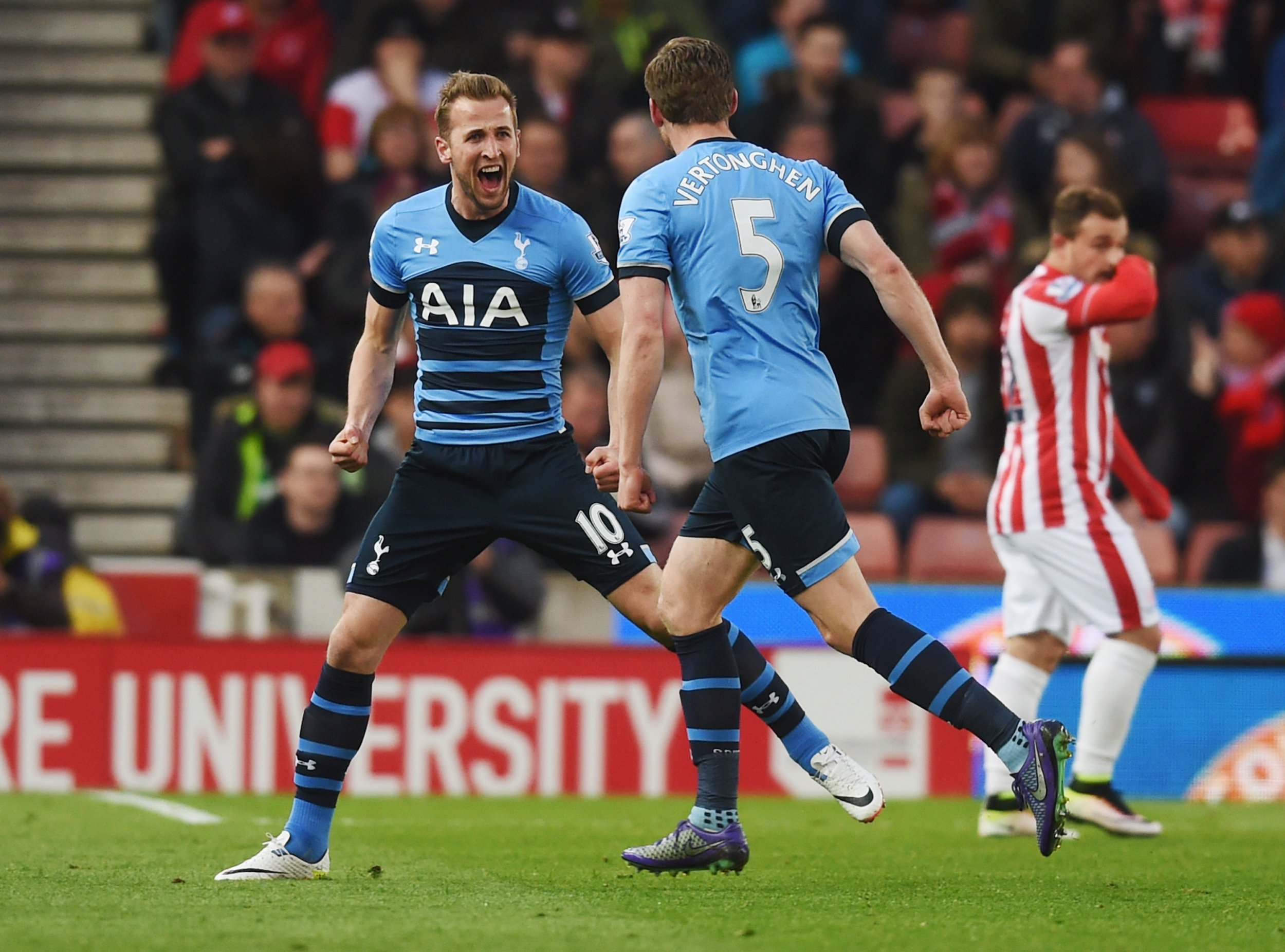 Harry Kane could shoot Tottenham to a first league title since 1961.