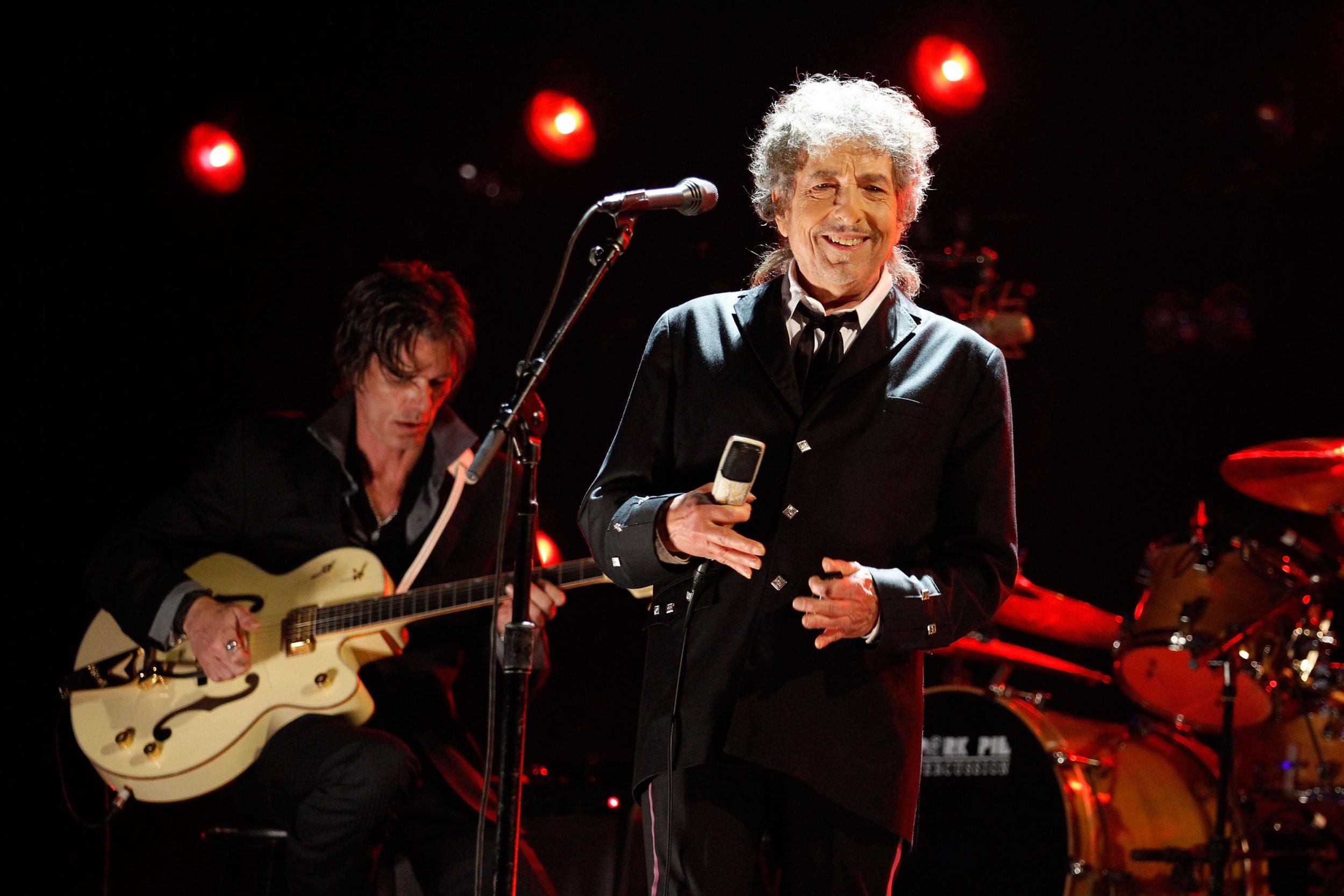 Bob Dylan at Critics' Choice Awards