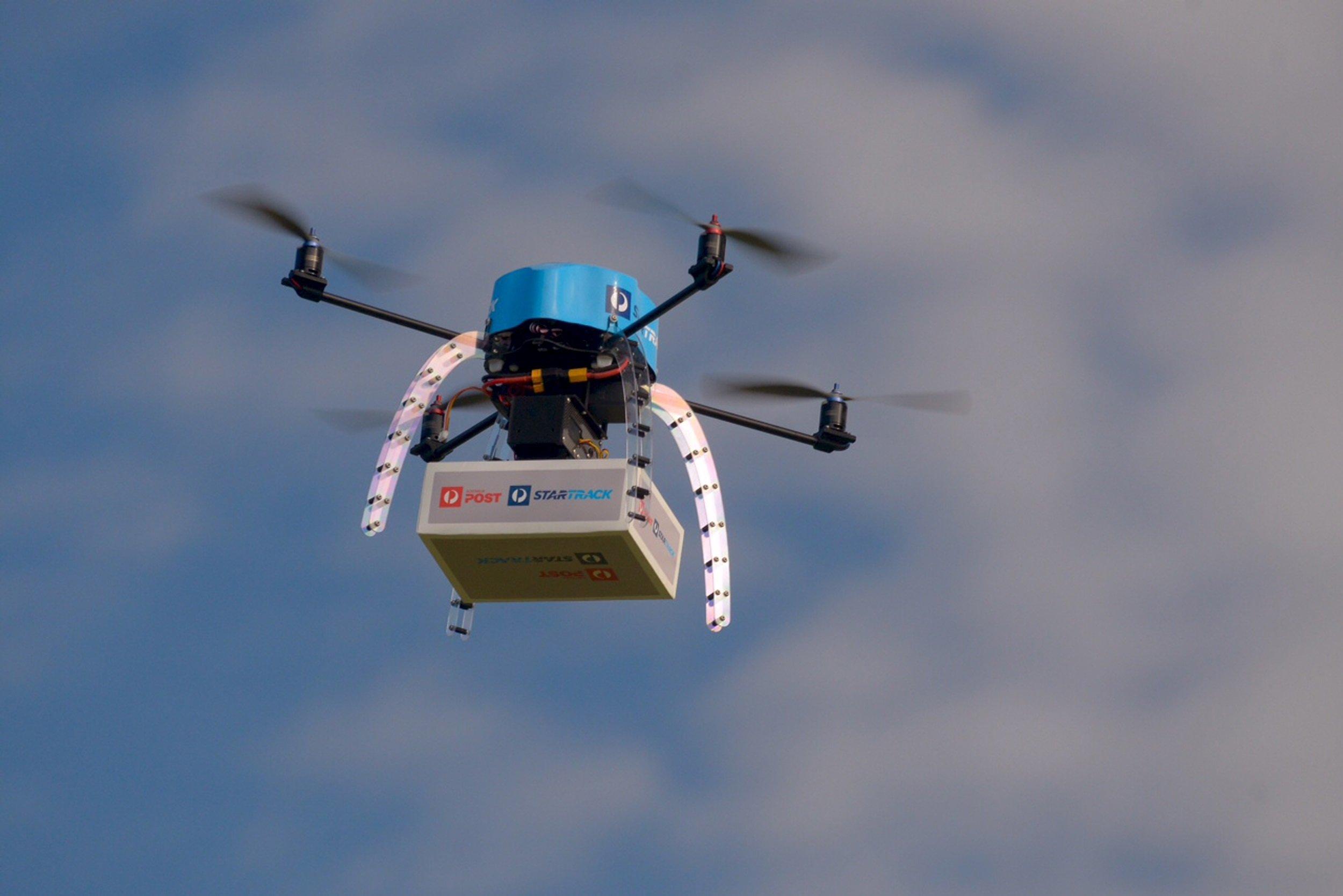drones post australia drone delivery