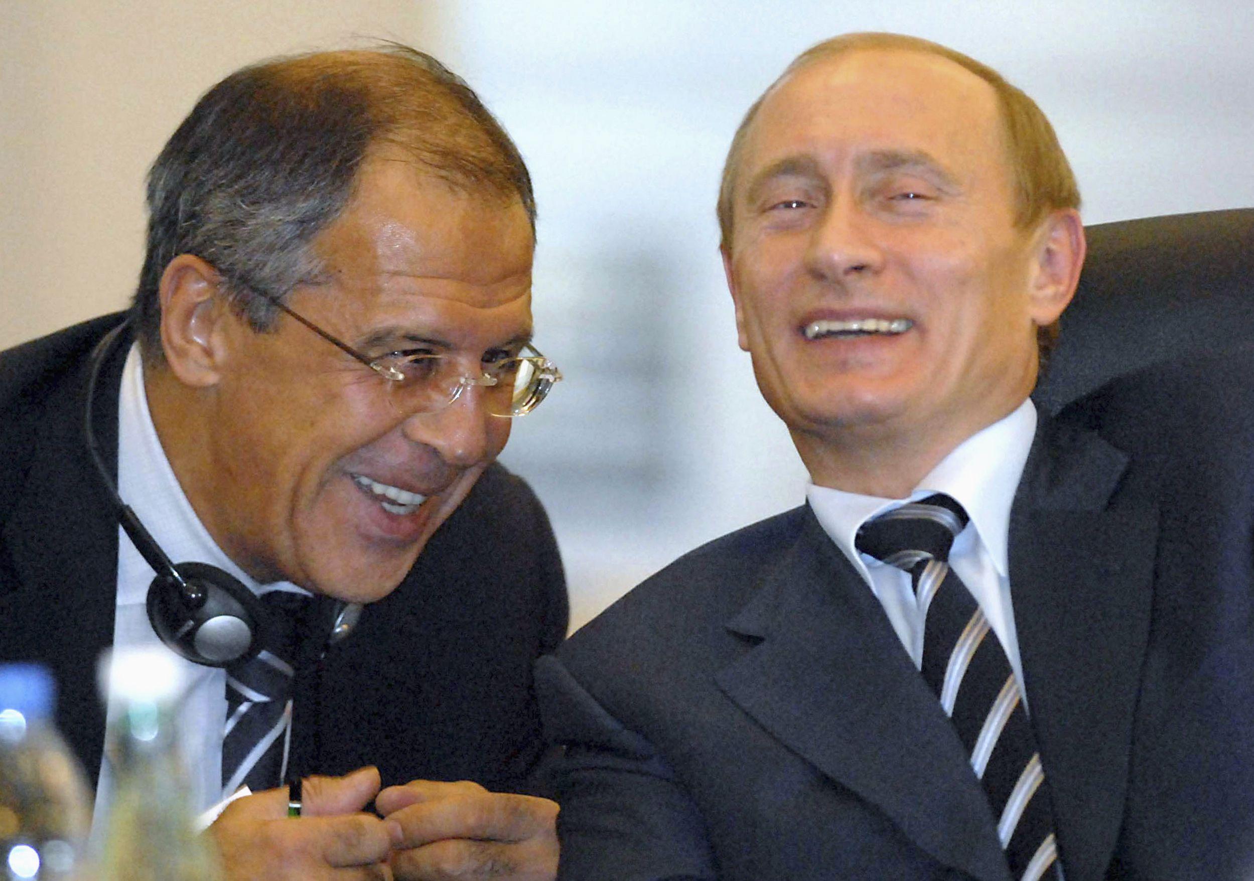 Lavrov and Putin
