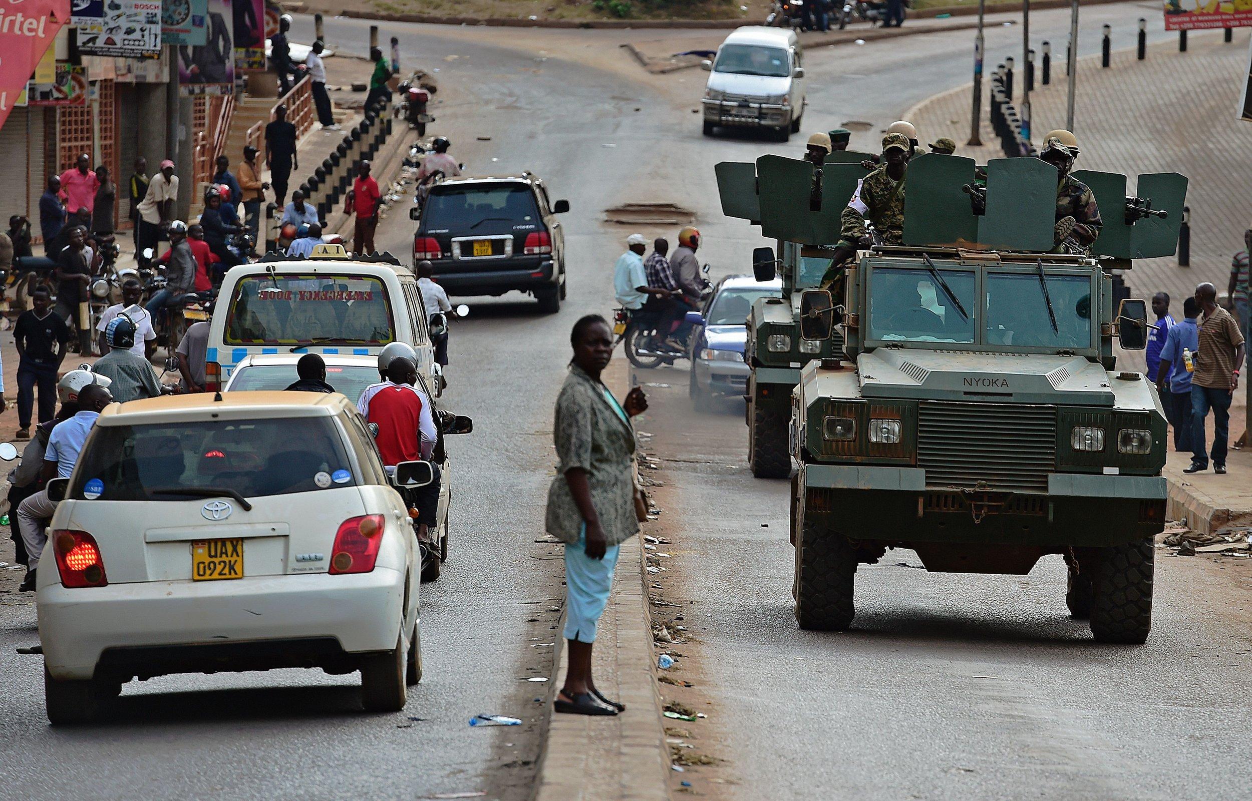 Ugandans seen in Kampala.