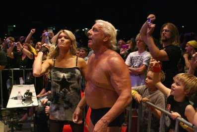 Wrestling legend Ric Flair has backed Leicester City for the Premier League