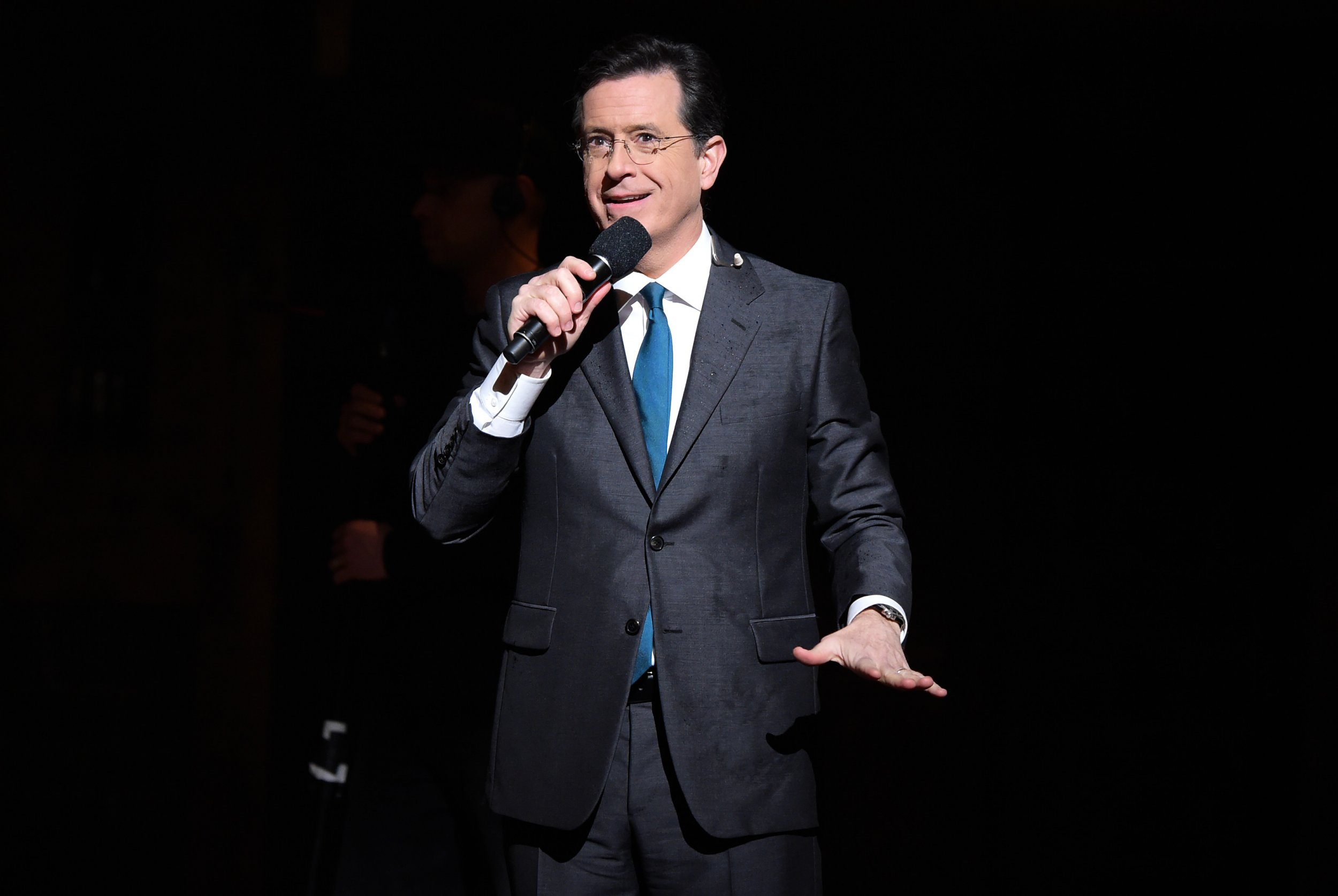 Stephen Colbert at the Grammys