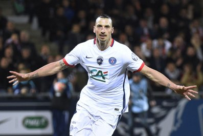 Zlatan Ibrahimovic is one of a bevy of stars Paris Saint-Germain has been able to attract