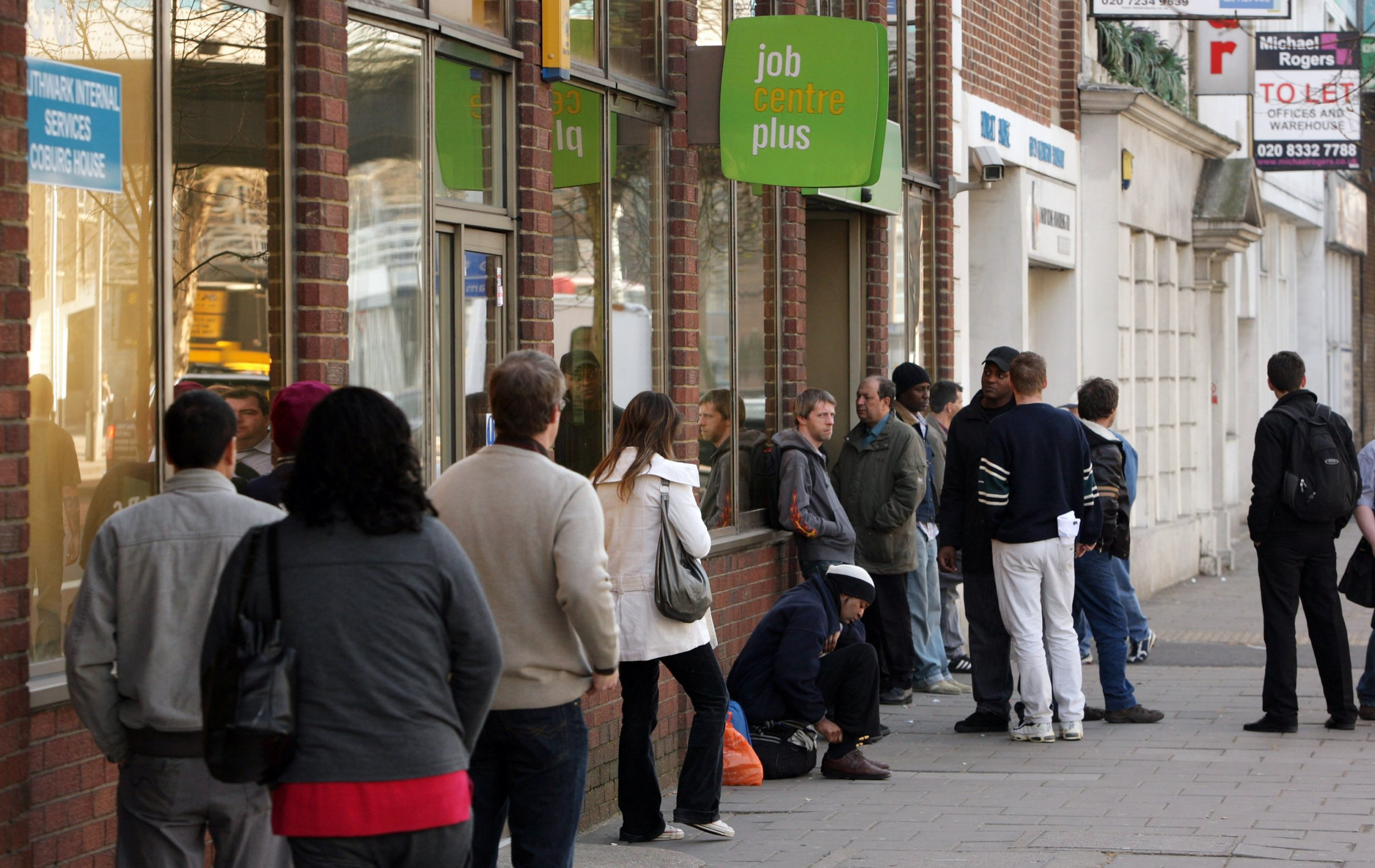 the rise of unemployment Employment hit a new record high in the three months to april despite sluggish gdp growth at the start of the year - but pay growth remained disappointing.