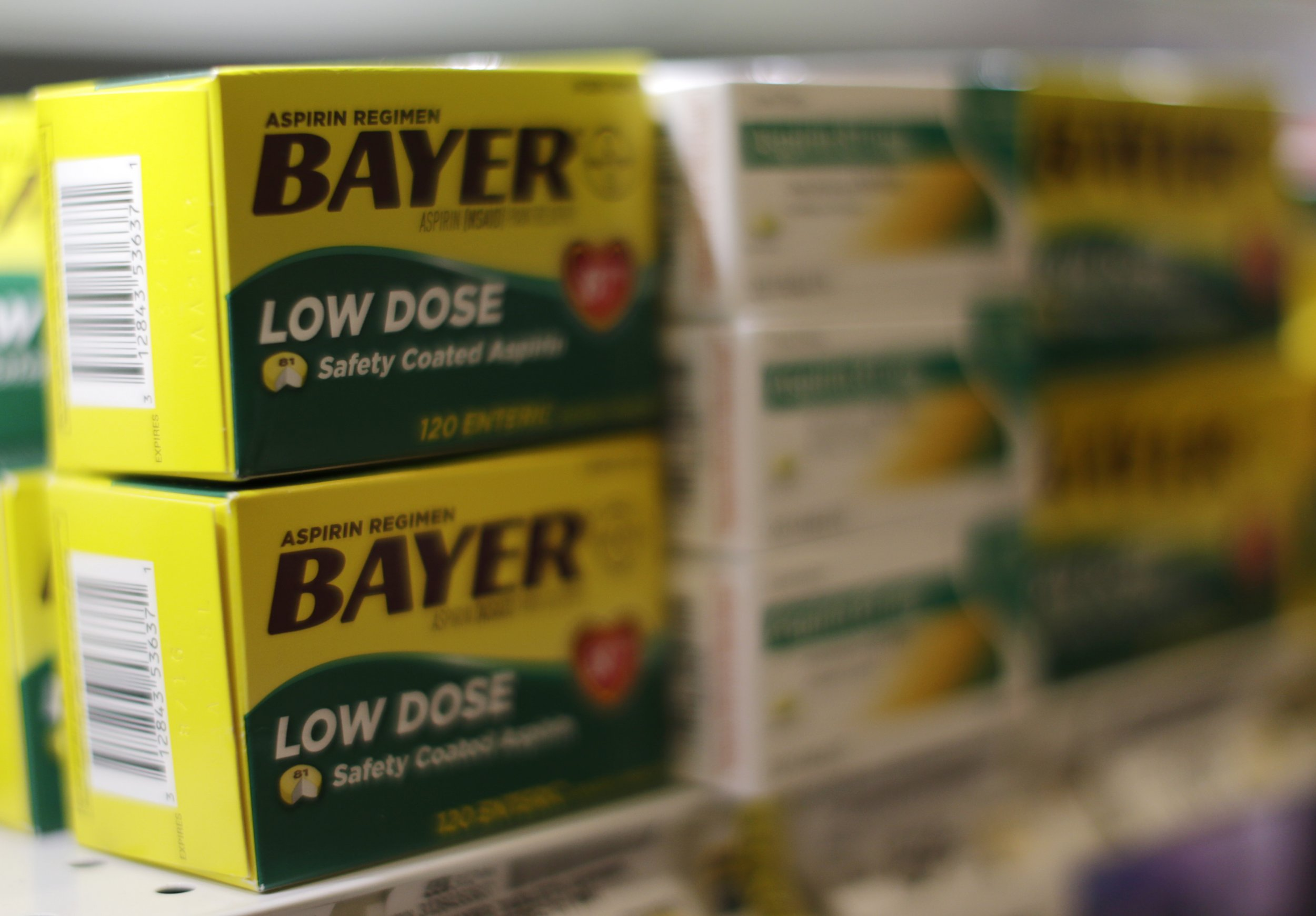 Aspirin Lowers Your Chances of a Heart Attack. But It's ...