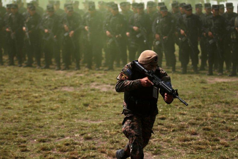 El Salvador Gangs Latin America Drugs