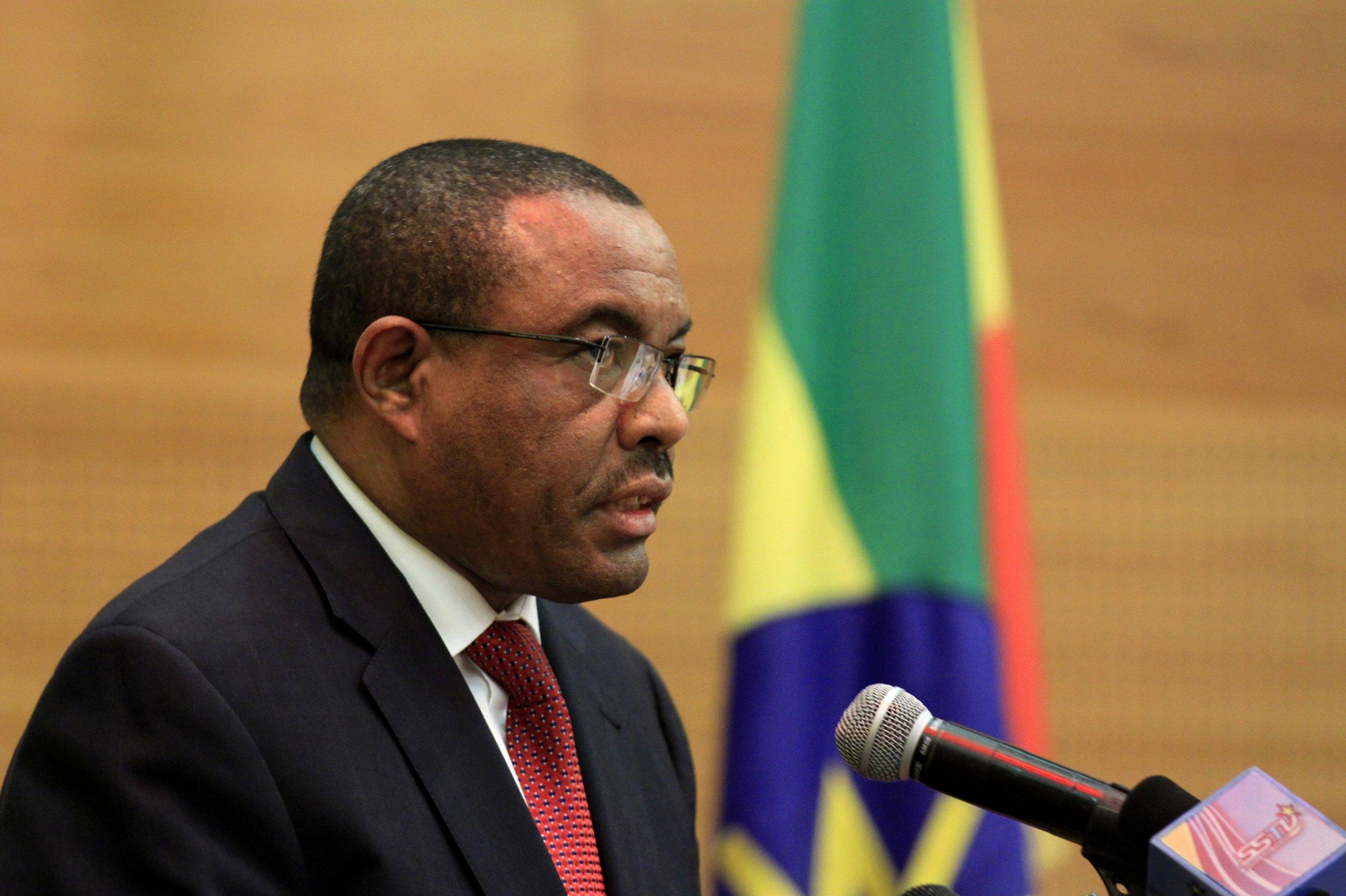 Ethiopian PM Hailemariam Desalegn.