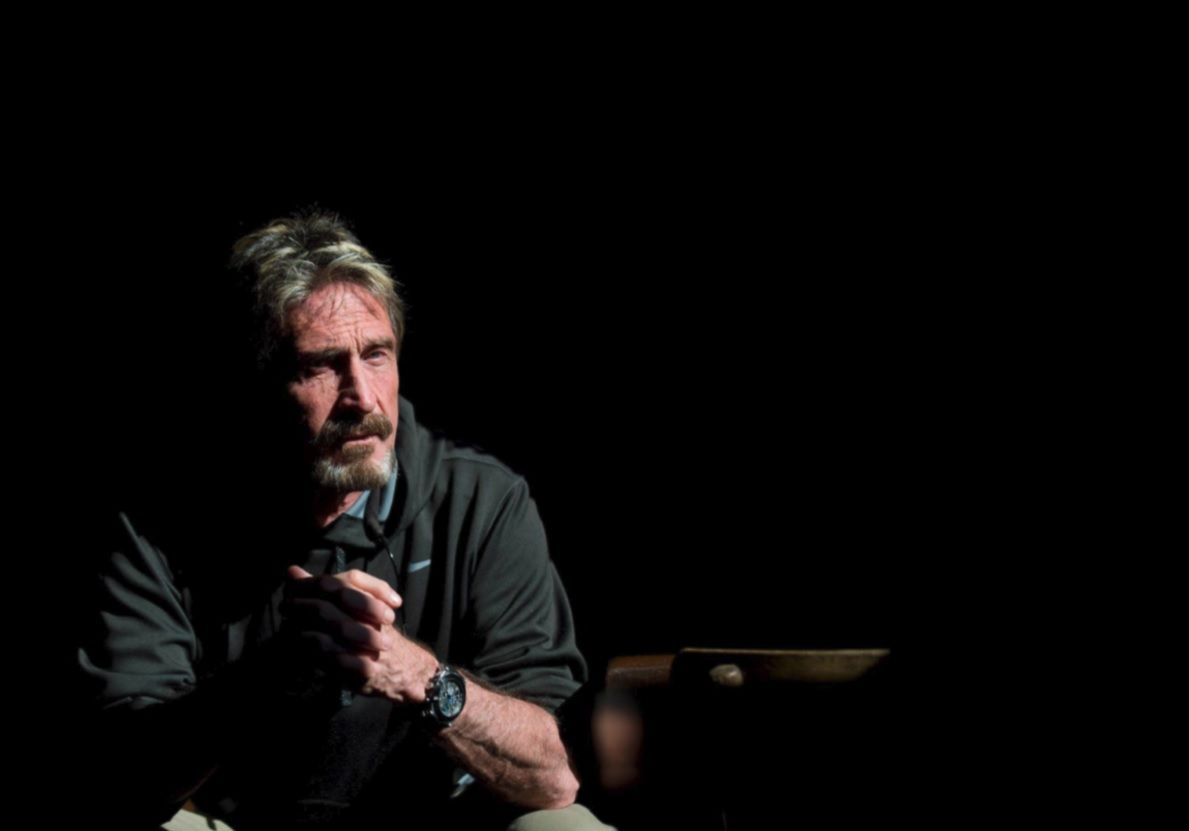 John McAfee Libertarian Party US elections 2016