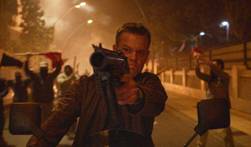 Jason Bourne starring Matt Damon