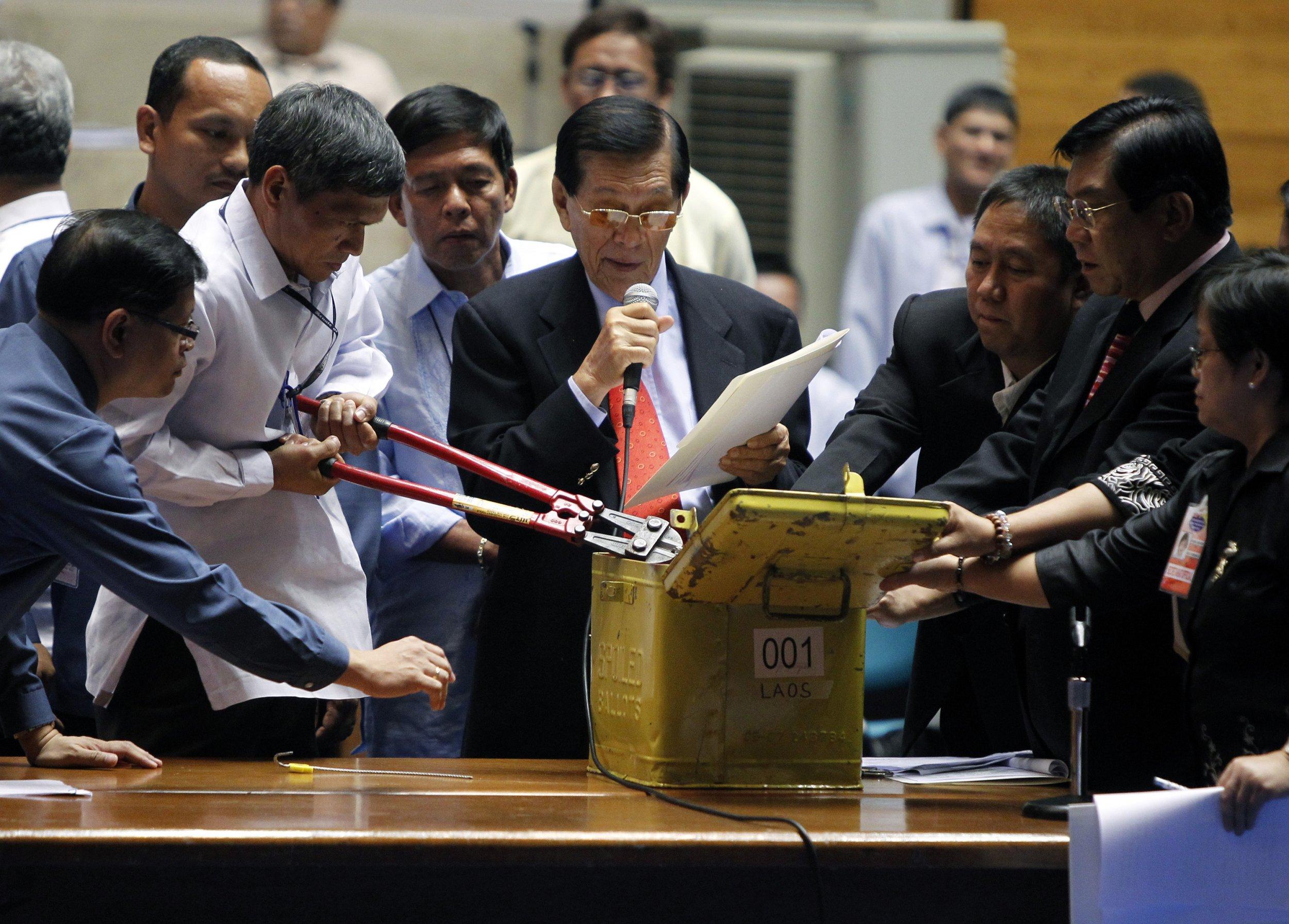 Philippines vote