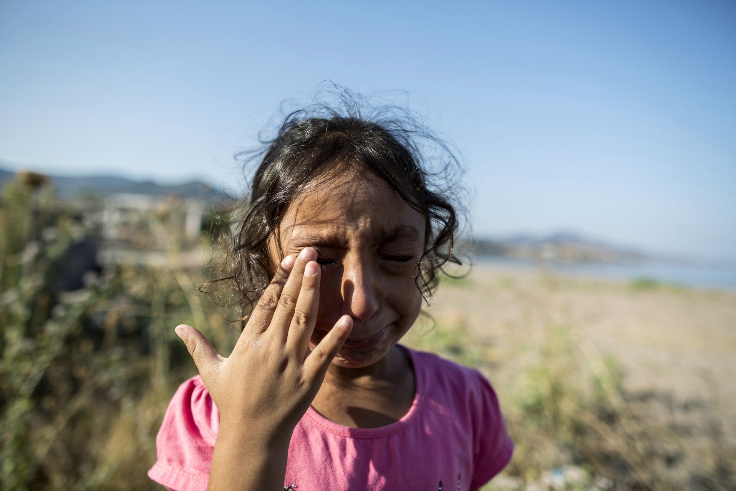 Syrian migrant Yasmine