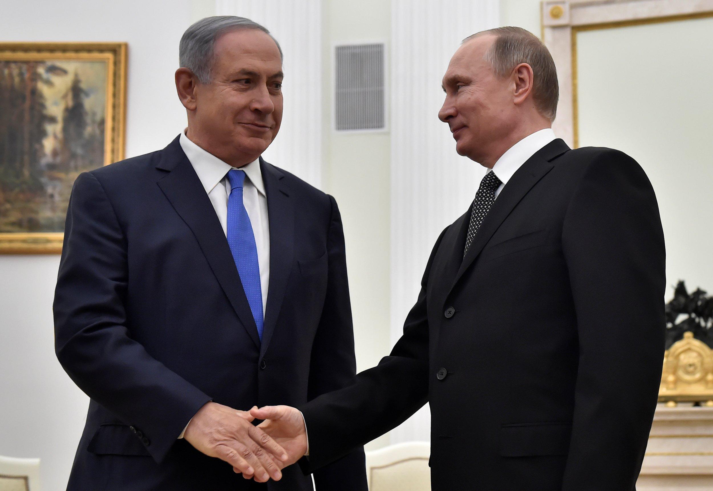 Netanyahu and Putin