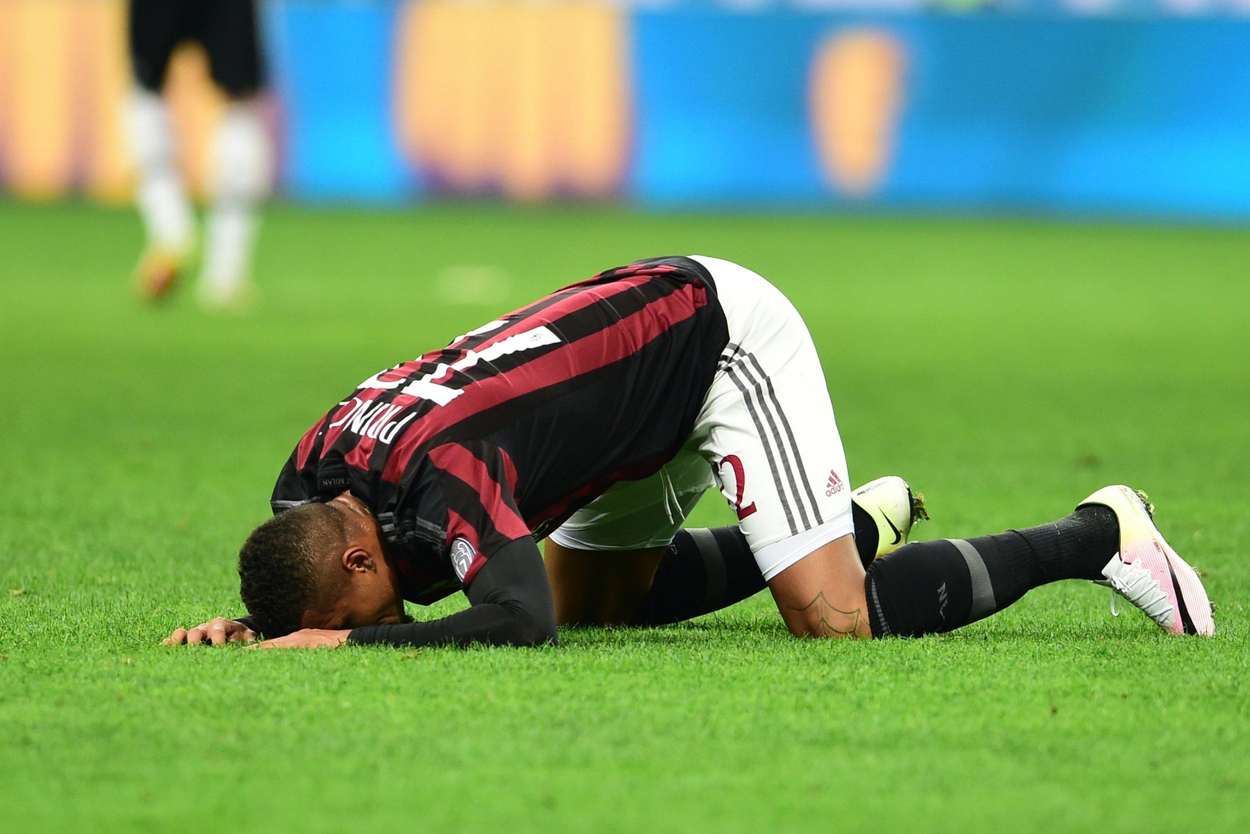 AC Milan player Kevin Prince Boateng