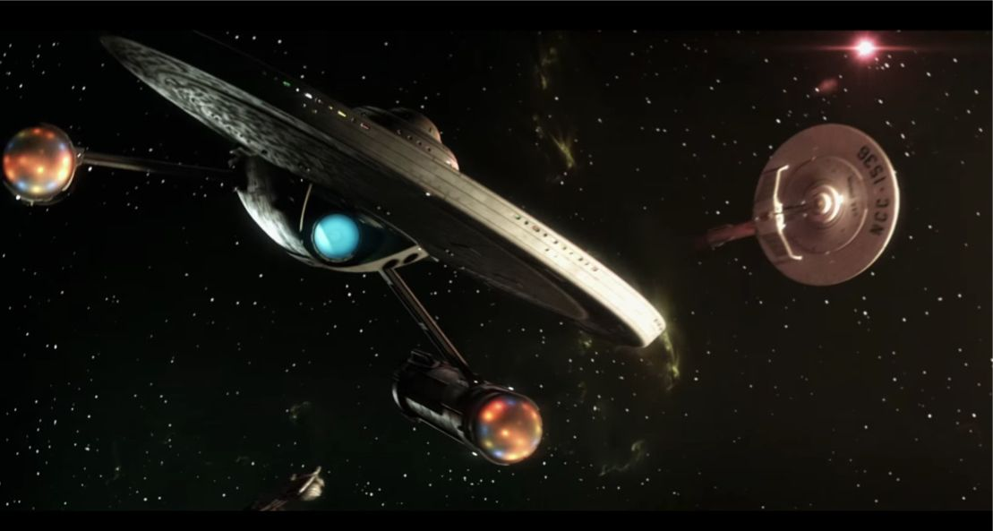 "Space battle from ""Prelude to Axanar"""