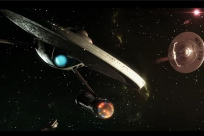 """Space battle from """"Prelude to Axanar"""""""