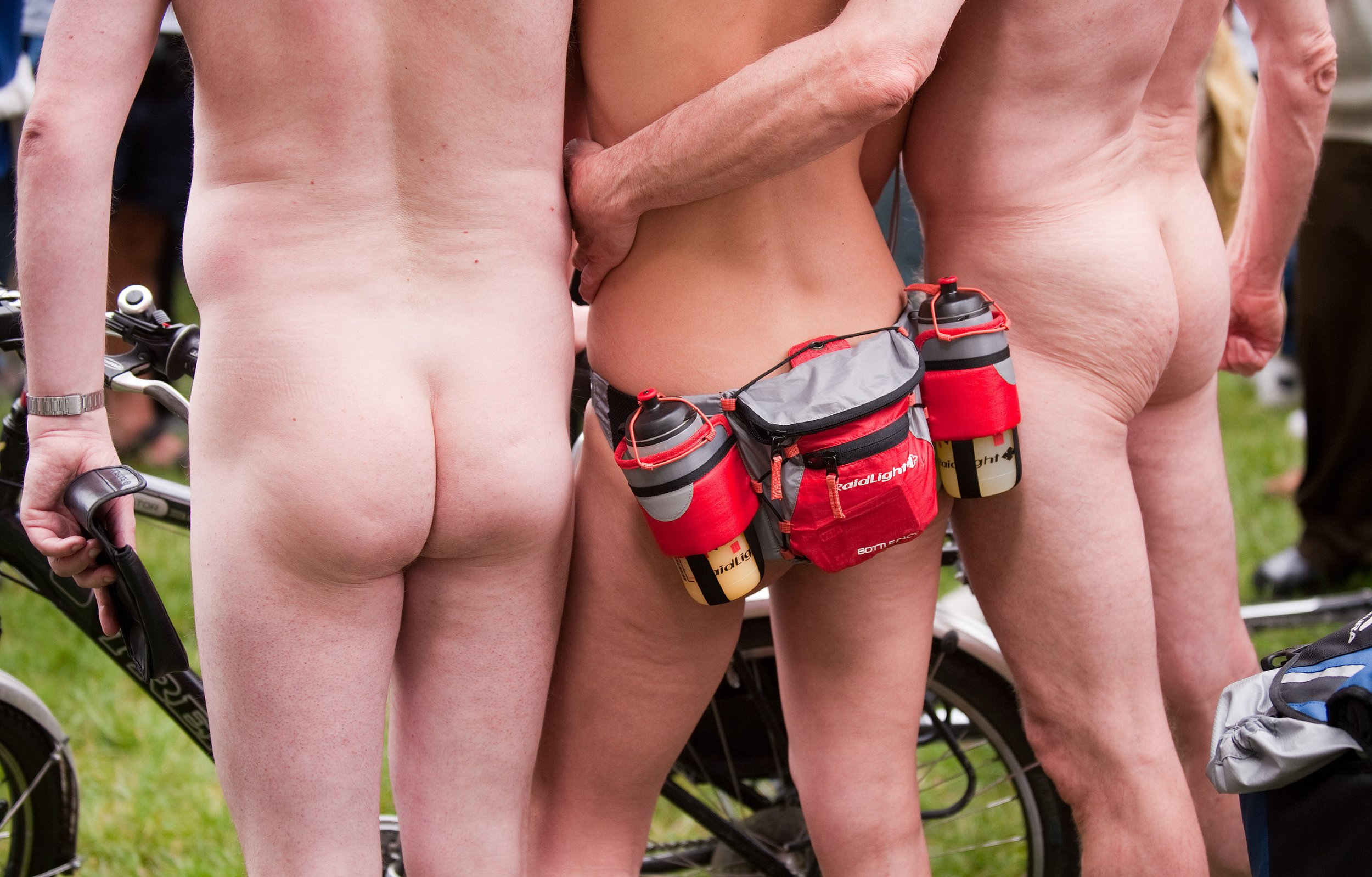 Naked Cyclists London