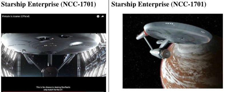 Axanar Lawsuit Highlight Showing Enterprise NCC-1701