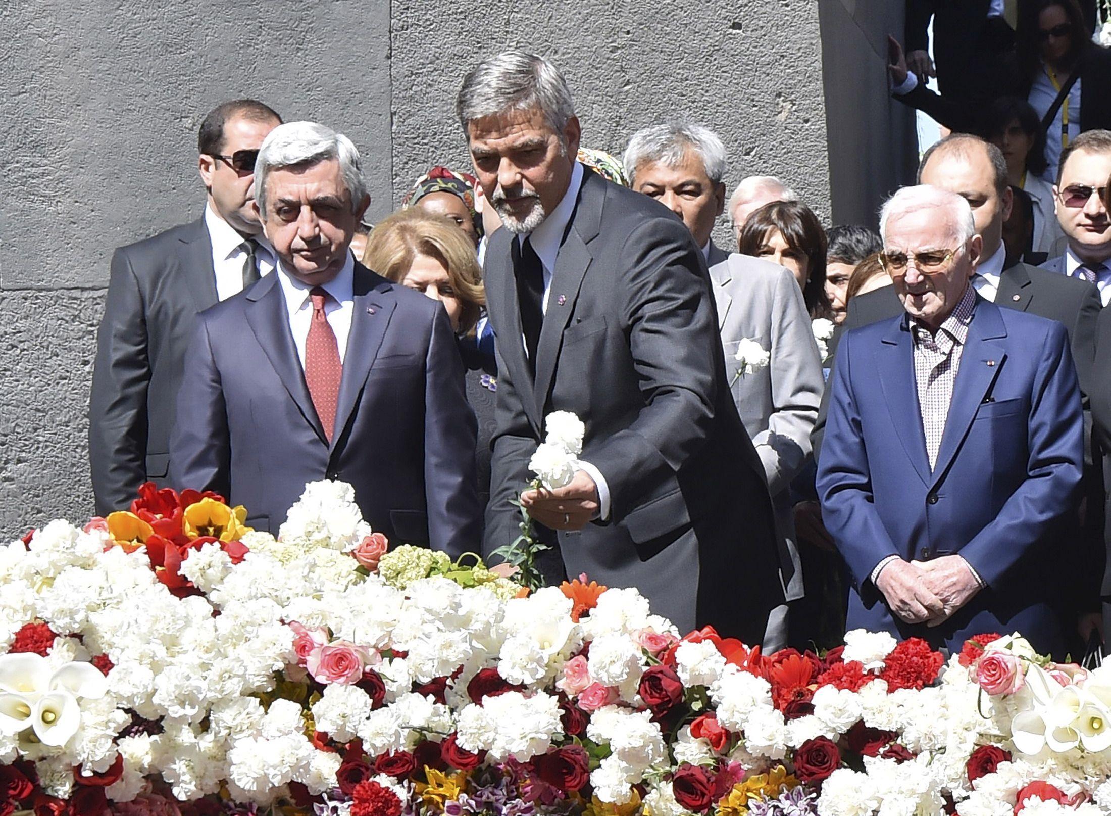 Clooney in Yerevan