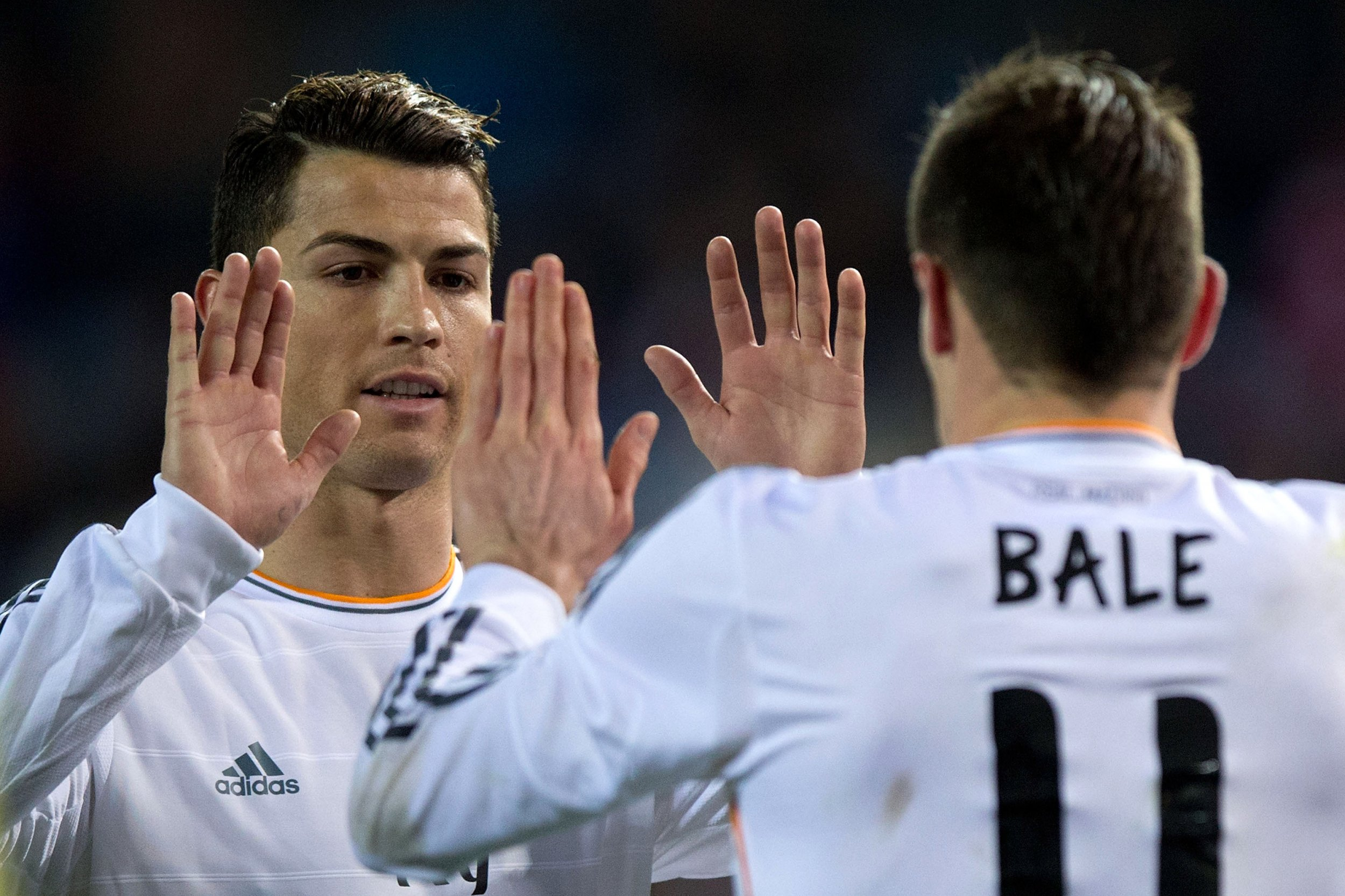 Ronaldo and Bale.