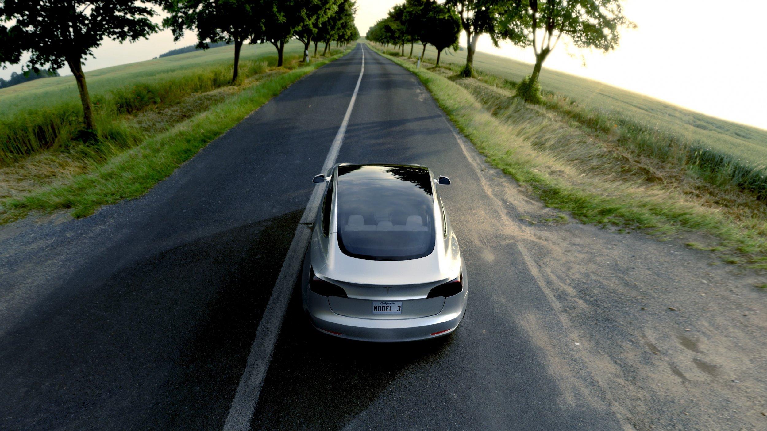 Tesla model 3 autopilot accident elon musk