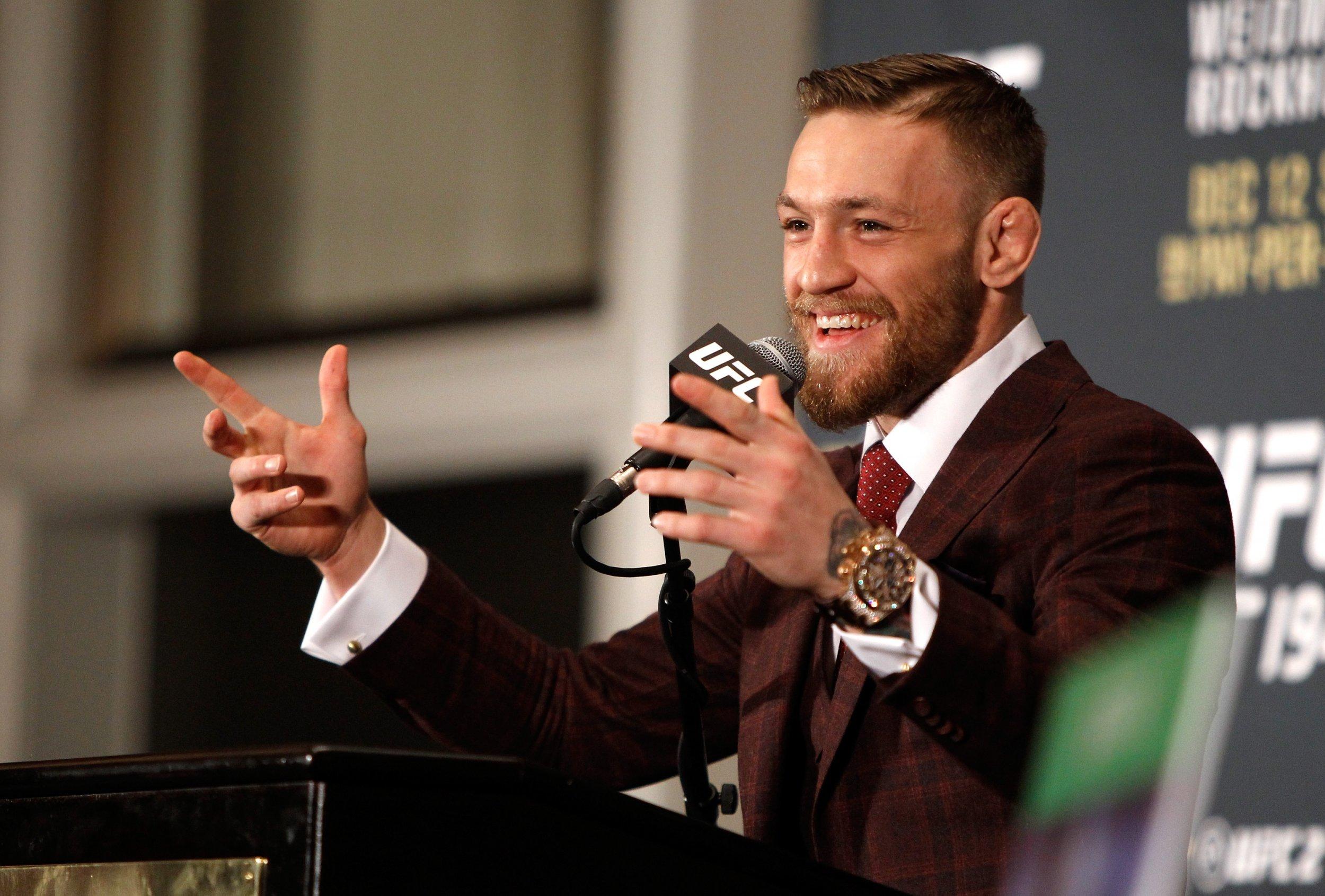 McGregor retirement U-turn