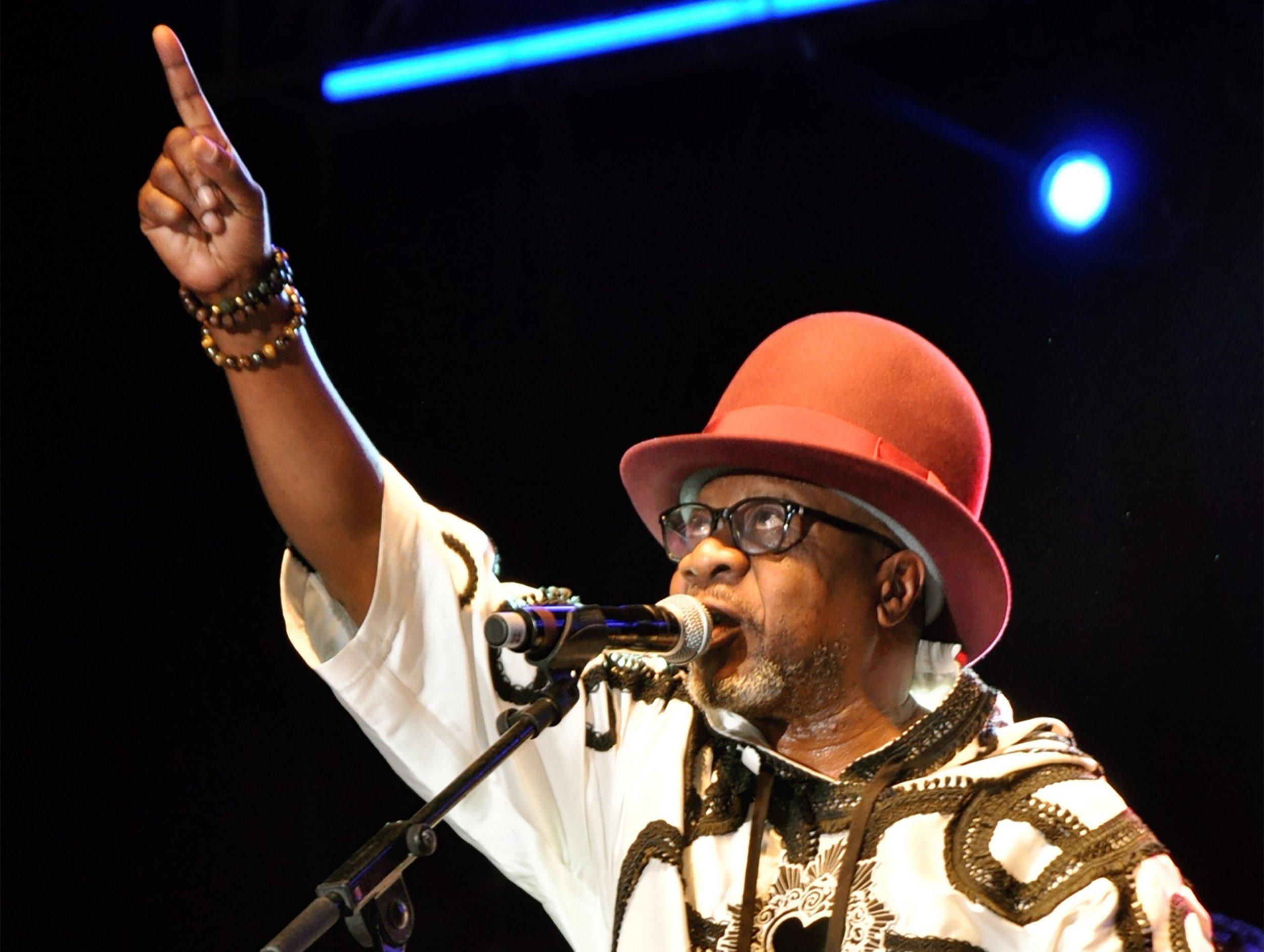 Congolese musician Papa Wemba.