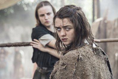 Maisie Williams in Game of Thrones season 6