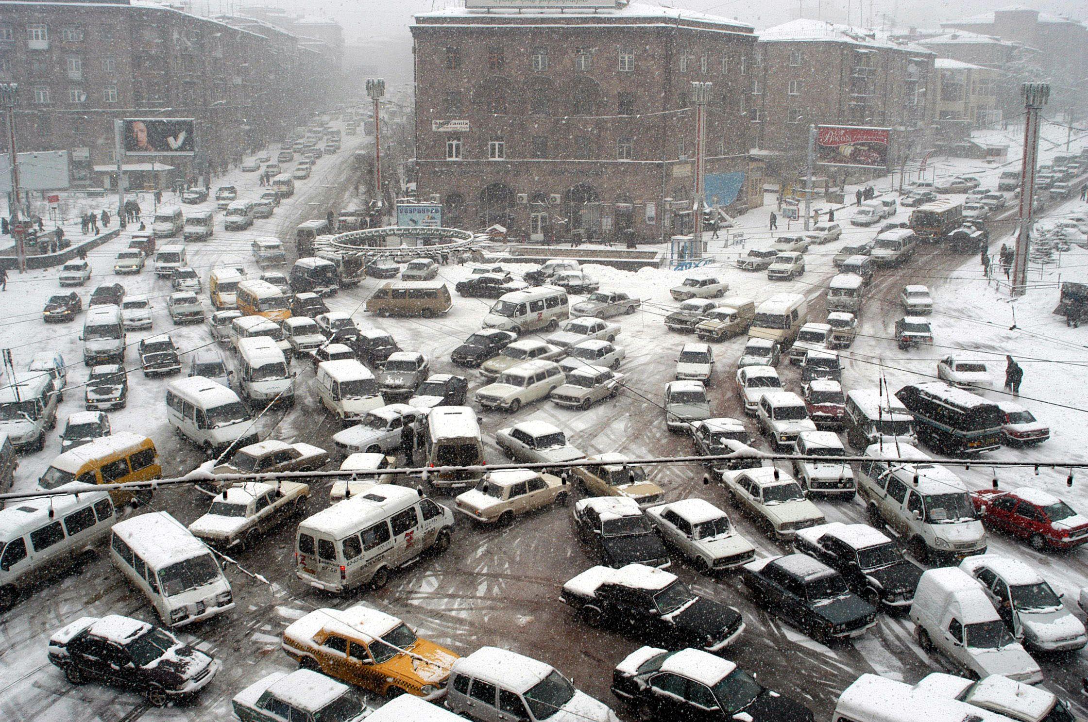 Yerevan traffic