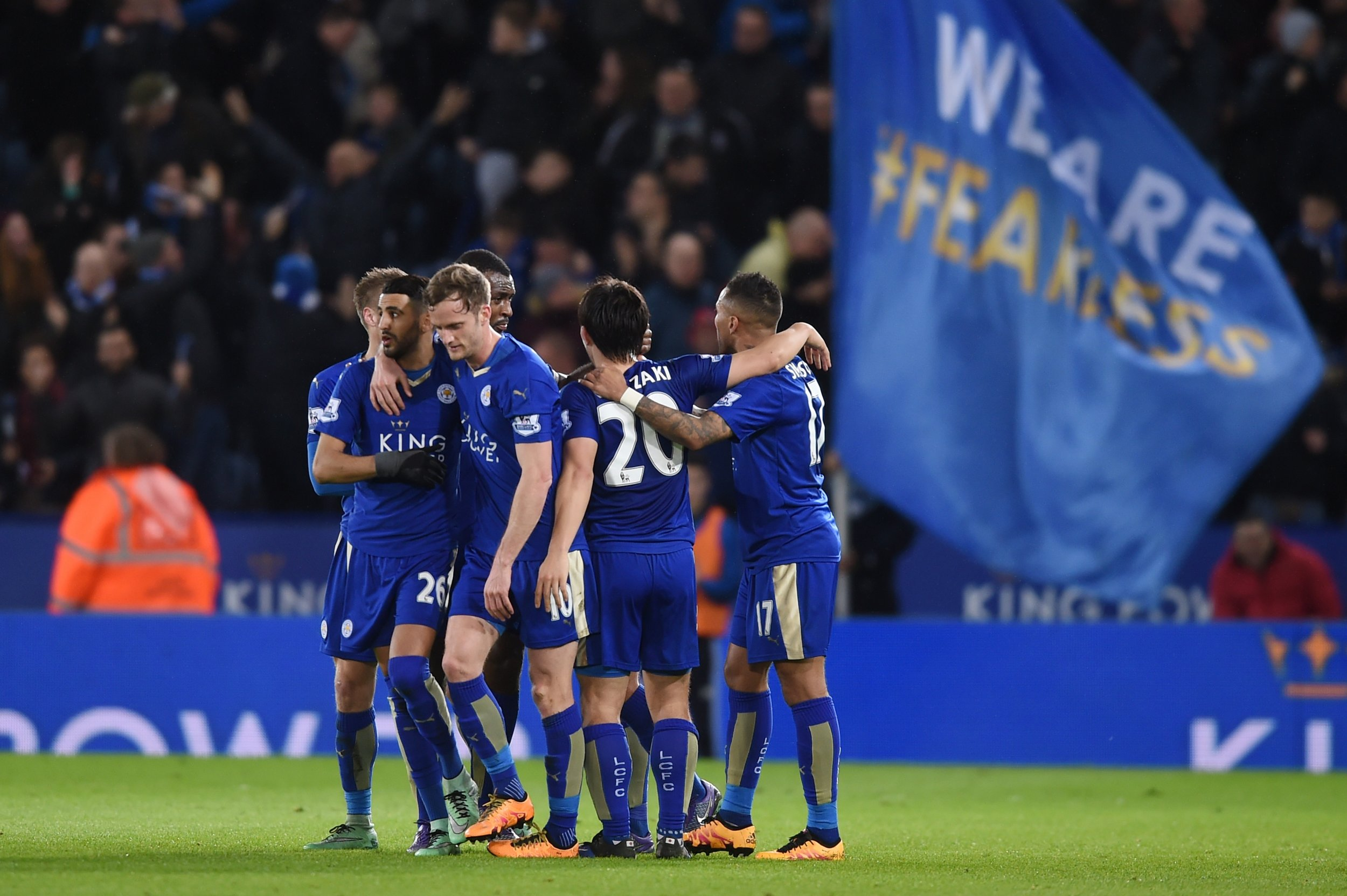 Leicester's run-in