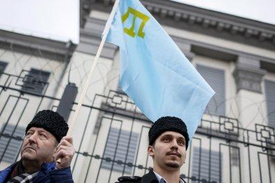 Crimean Tatar protest