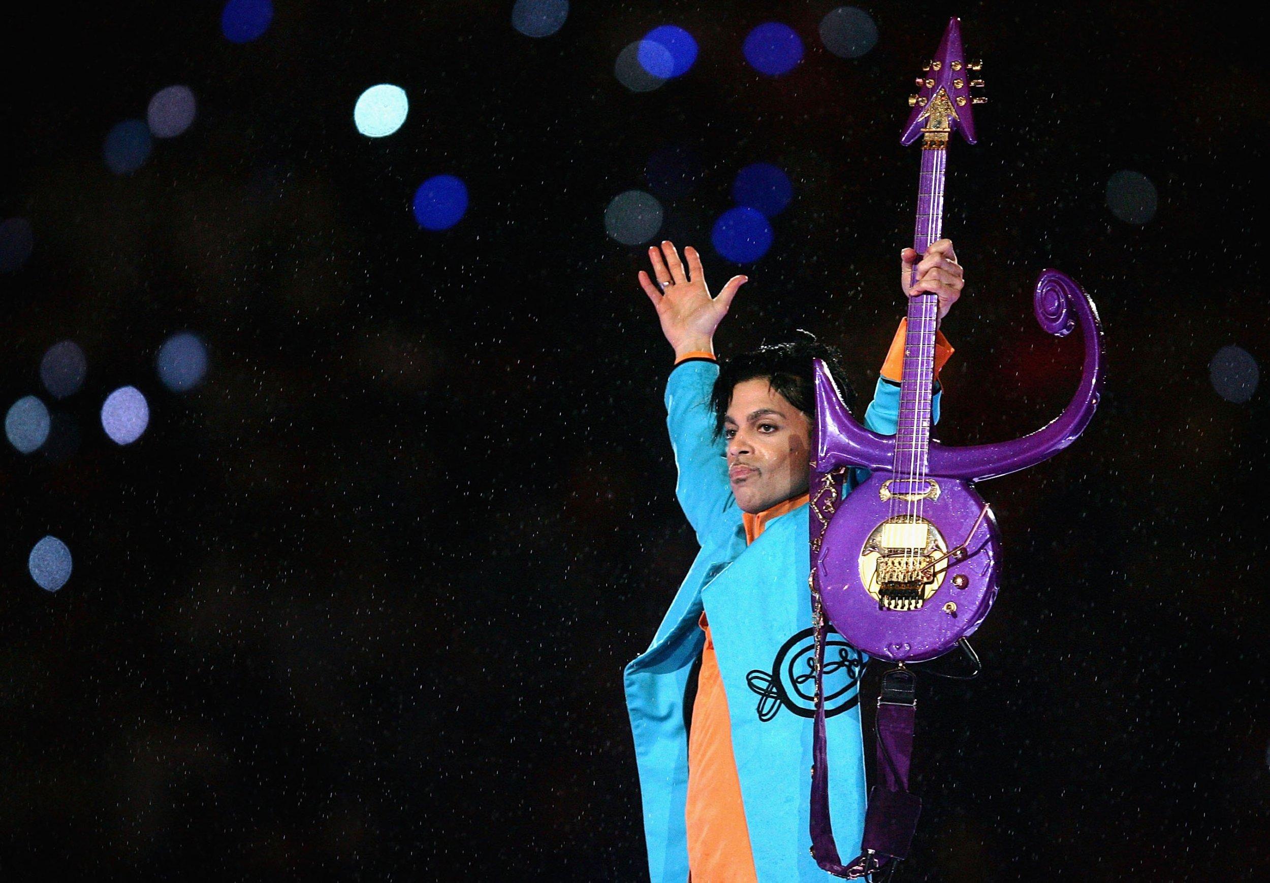 Prince at Super Bowl