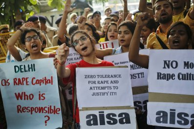 4-27-16 India rape protest